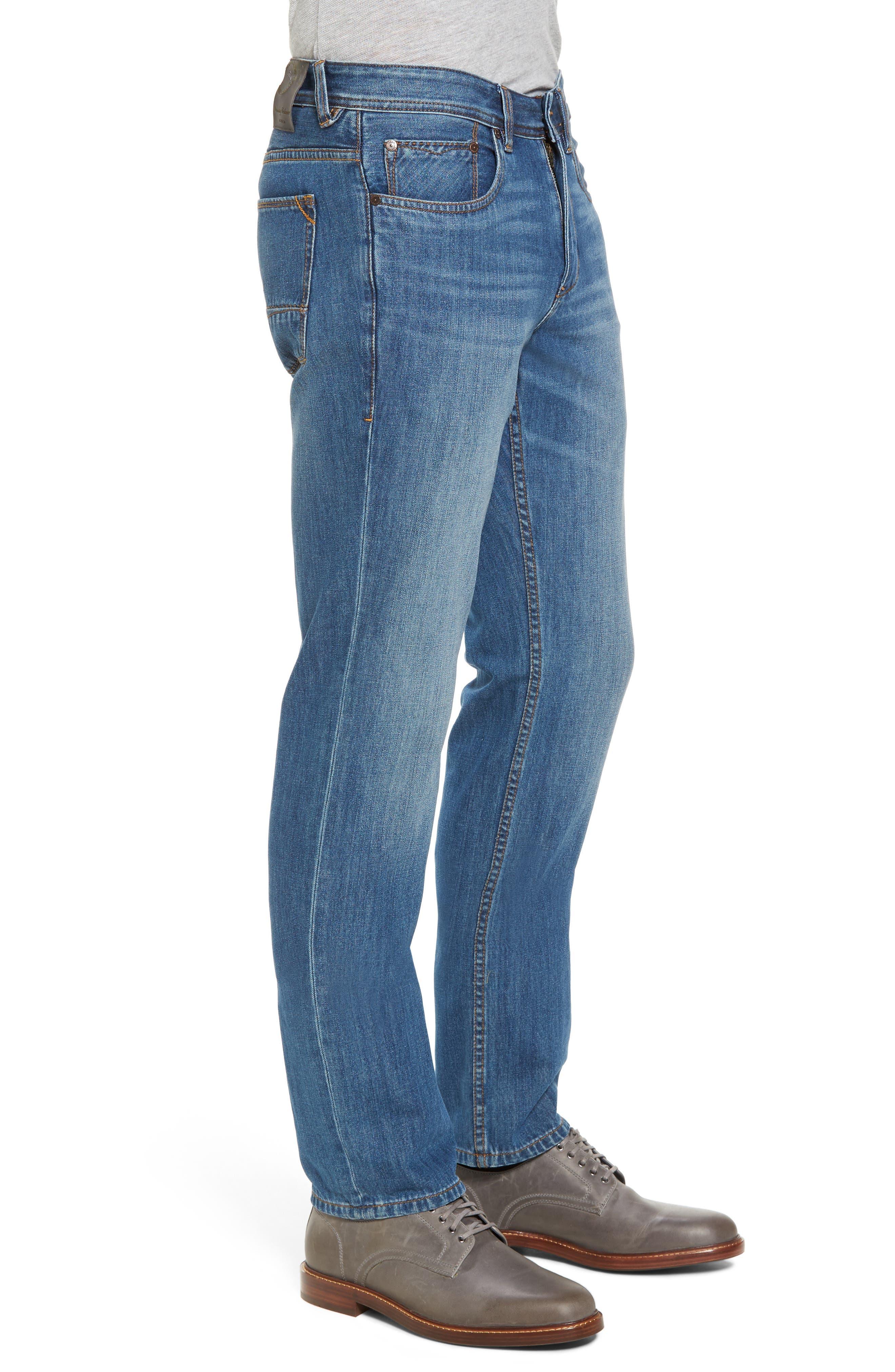 Bardabos Straight Leg Jeans,                             Alternate thumbnail 4, color,                             400
