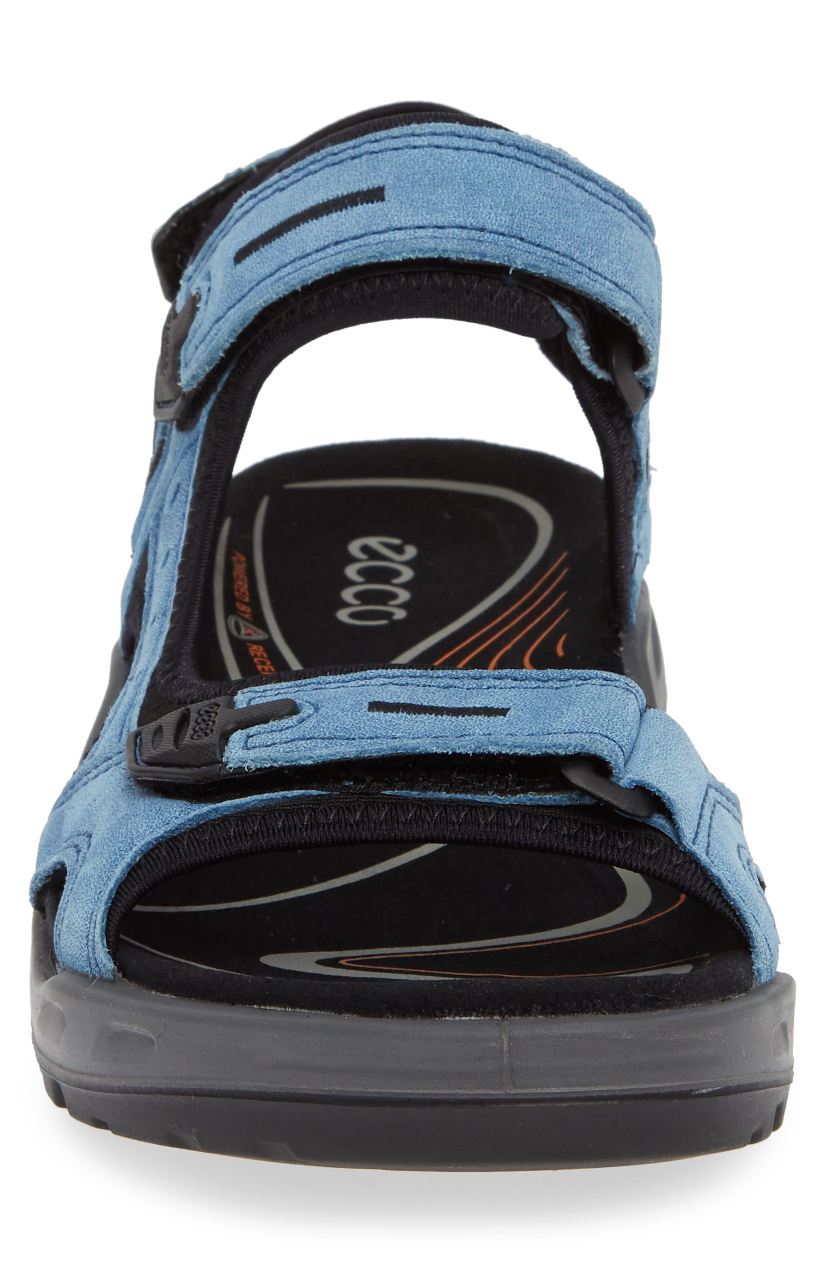 Offroad Sport Sandal,                             Alternate thumbnail 4, color,                             INDIGO LEATHER