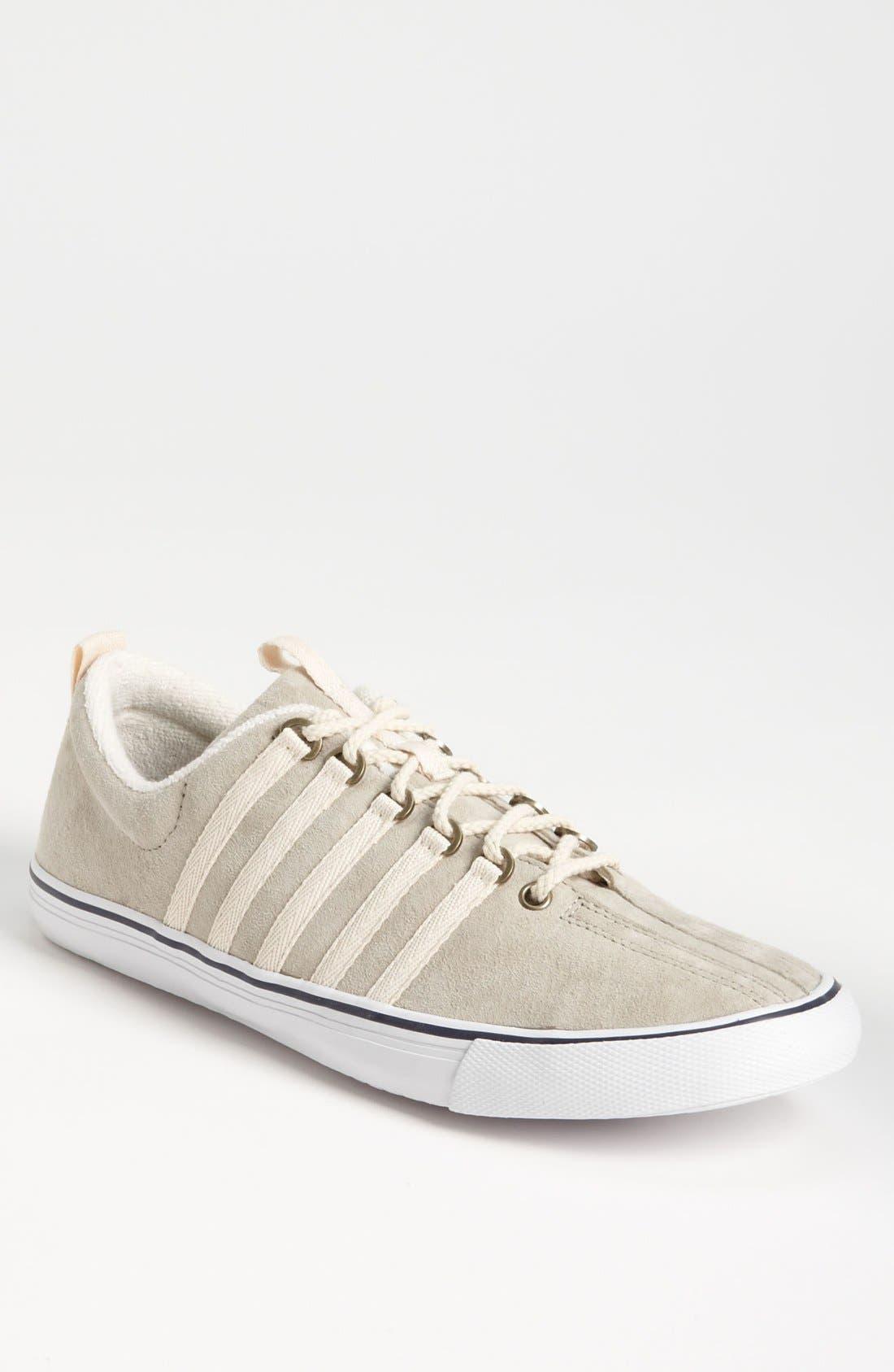 'Billy Reid Venice' Suede Sneaker, Main, color, 052