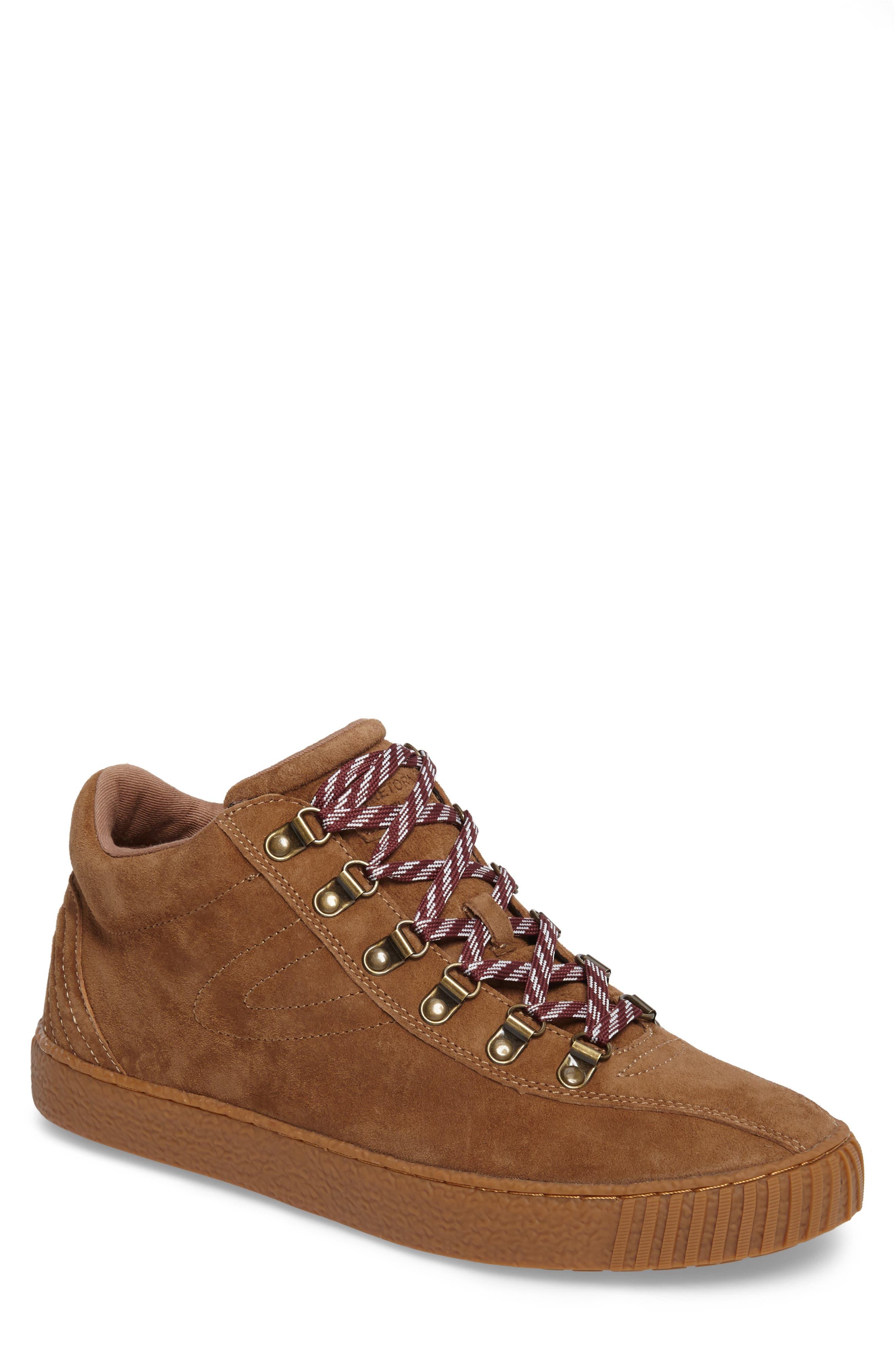 Dante 3 Sneaker,                         Main,                         color, CIGAR NUBUCK
