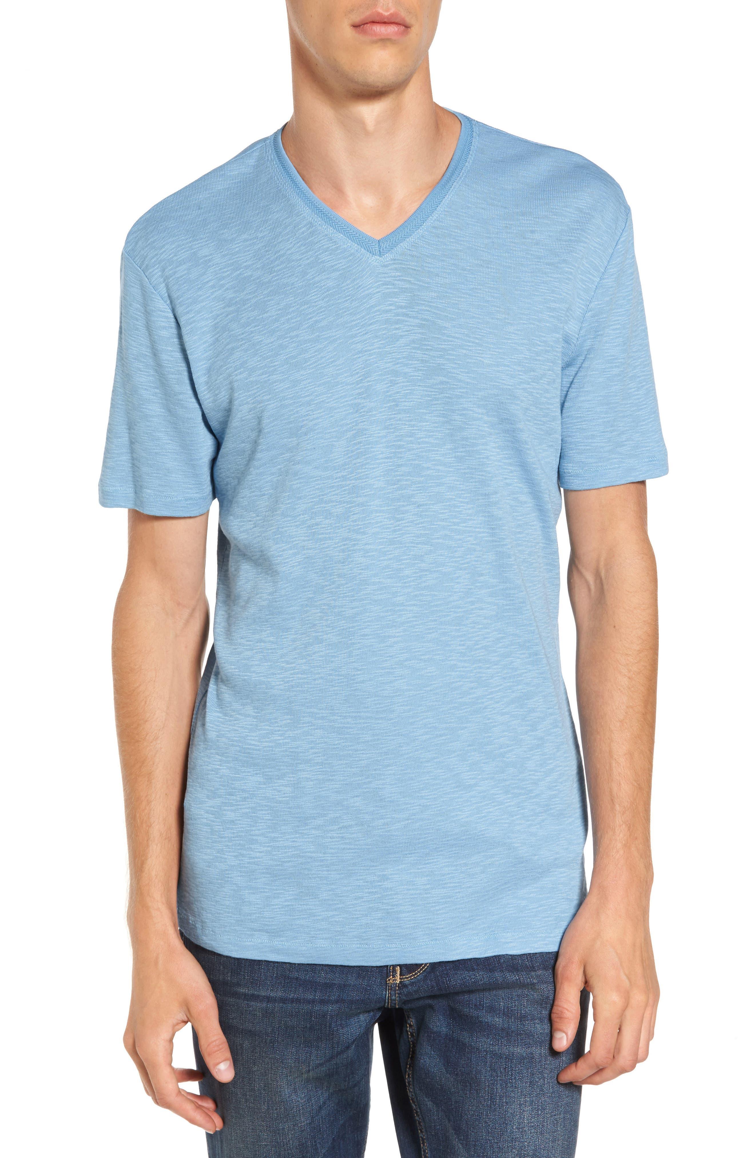 Capitola V-Neck T-Shirt,                             Main thumbnail 4, color,