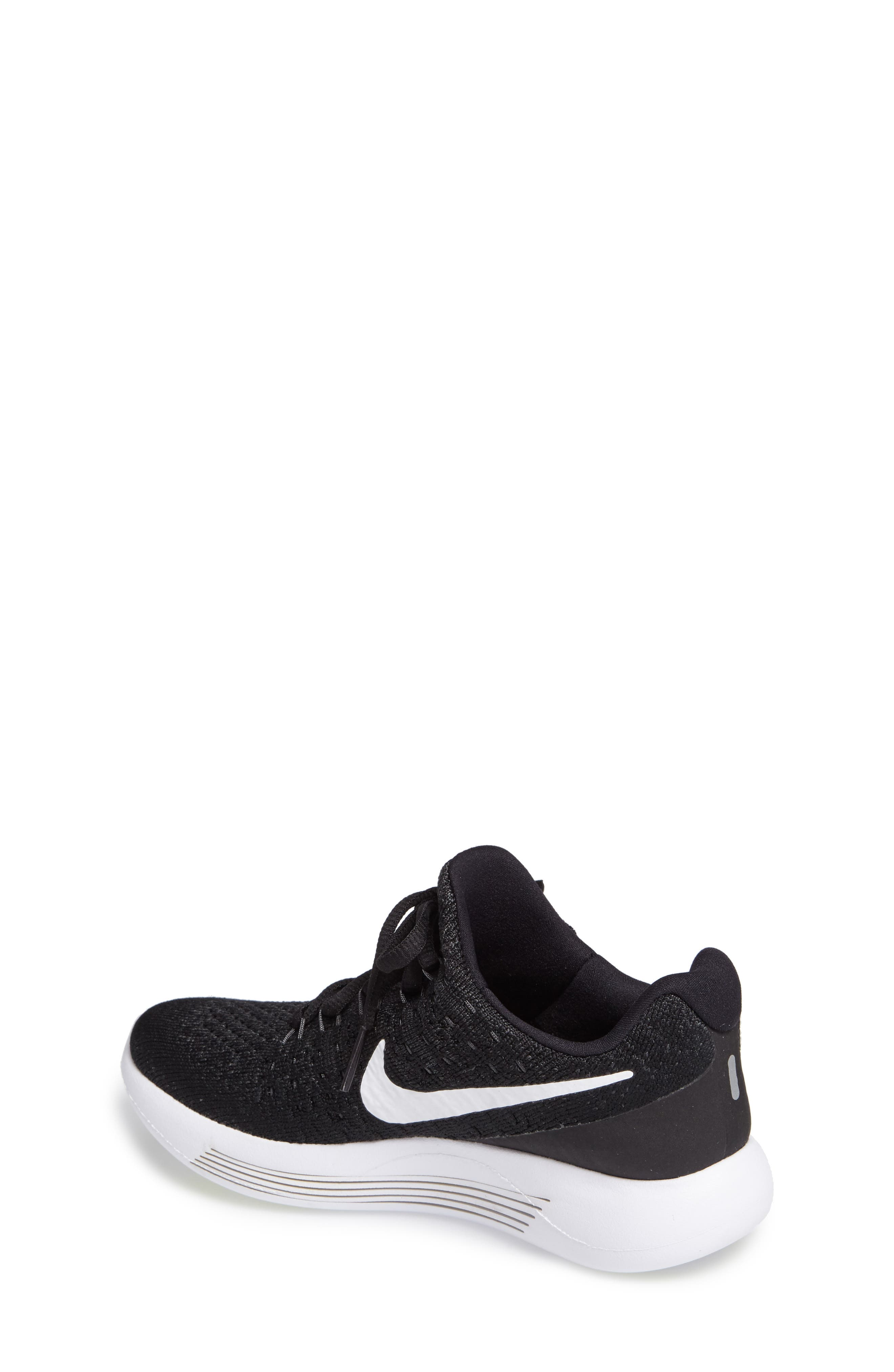 Flyknit LunarEpic Sneaker,                             Alternate thumbnail 2, color,                             001