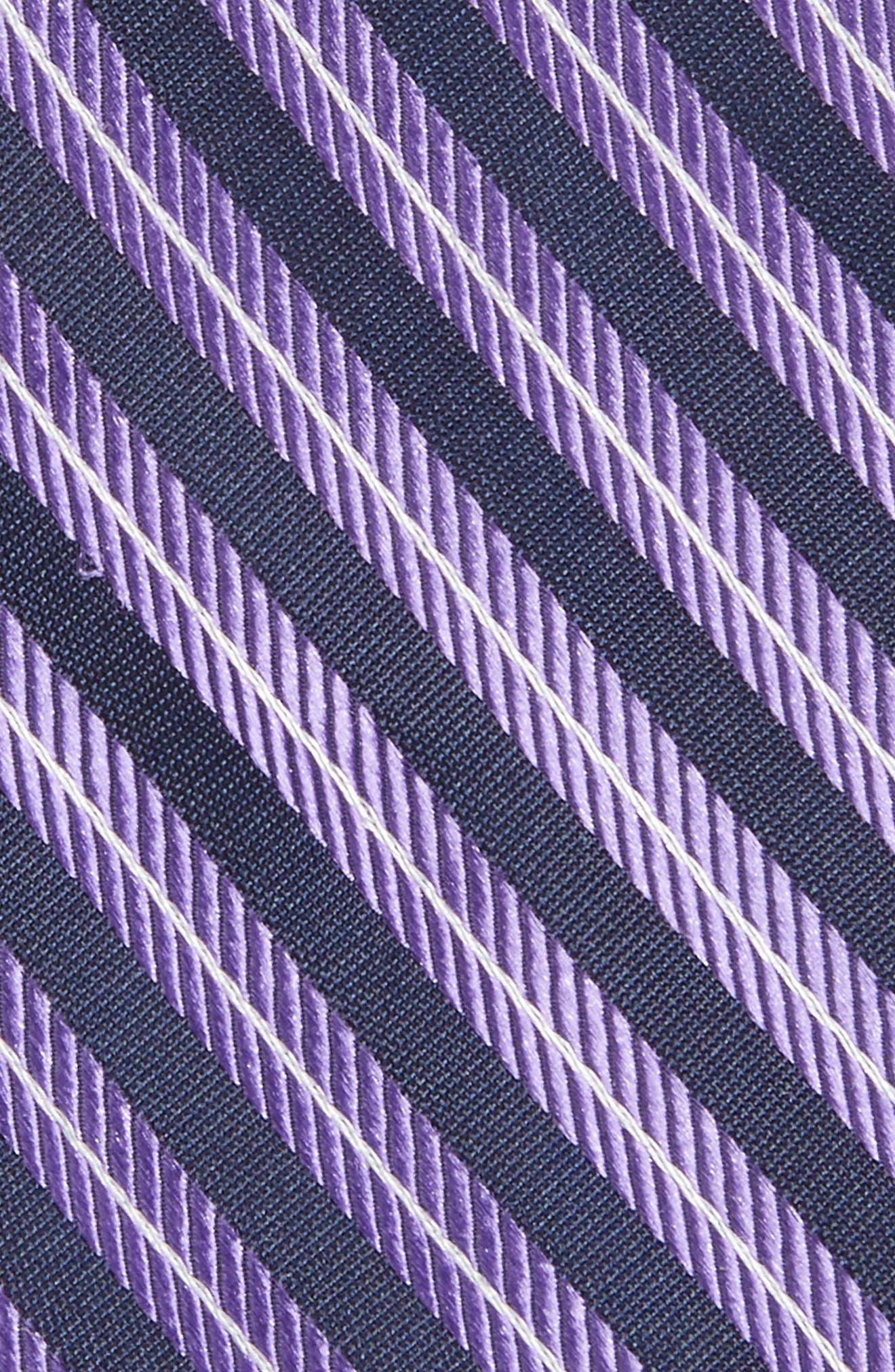 Milliner Stripe Silk Tie,                             Alternate thumbnail 5, color,