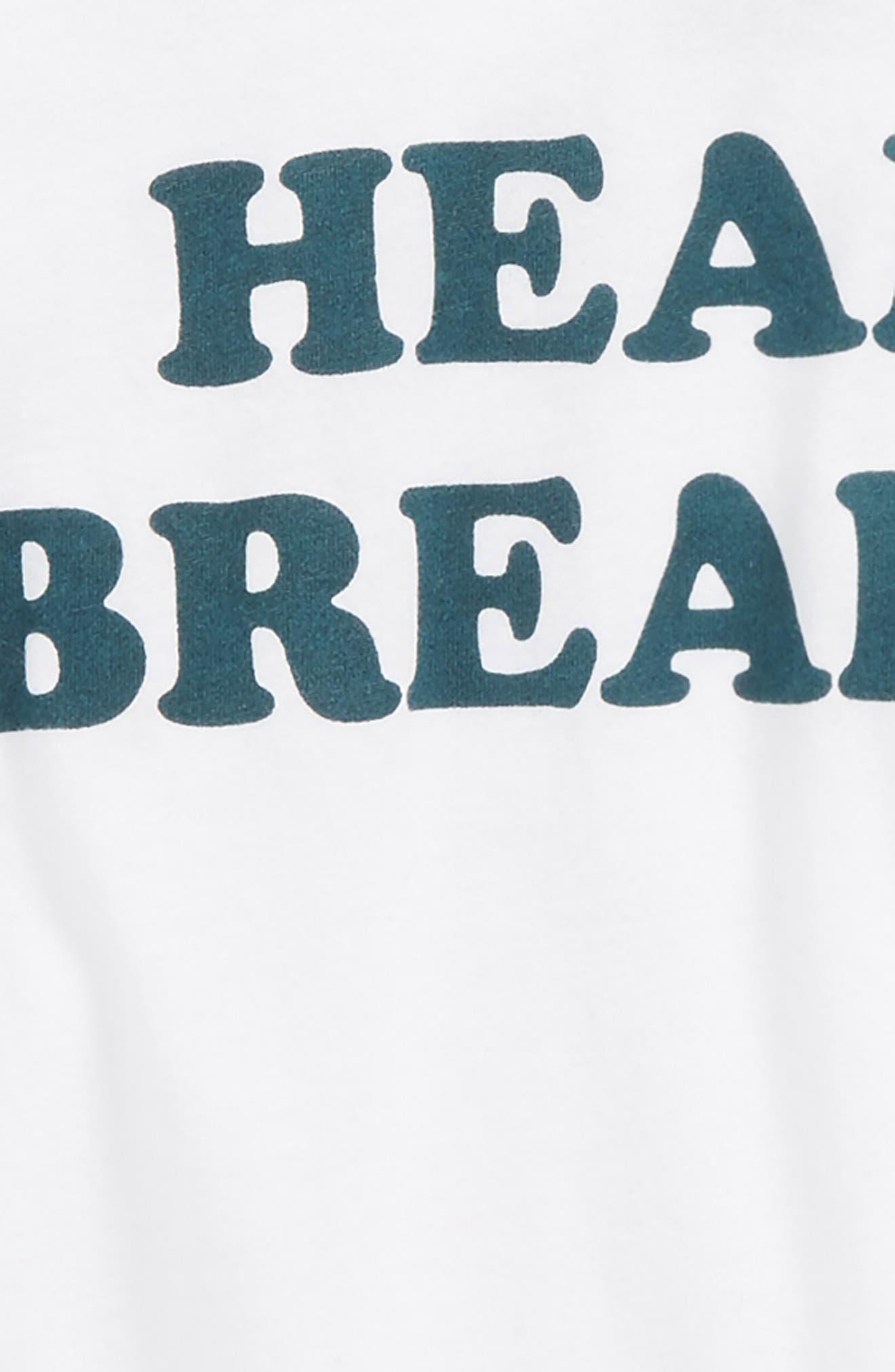 Heart Breaker Raglan T-Shirt,                             Alternate thumbnail 2, color,