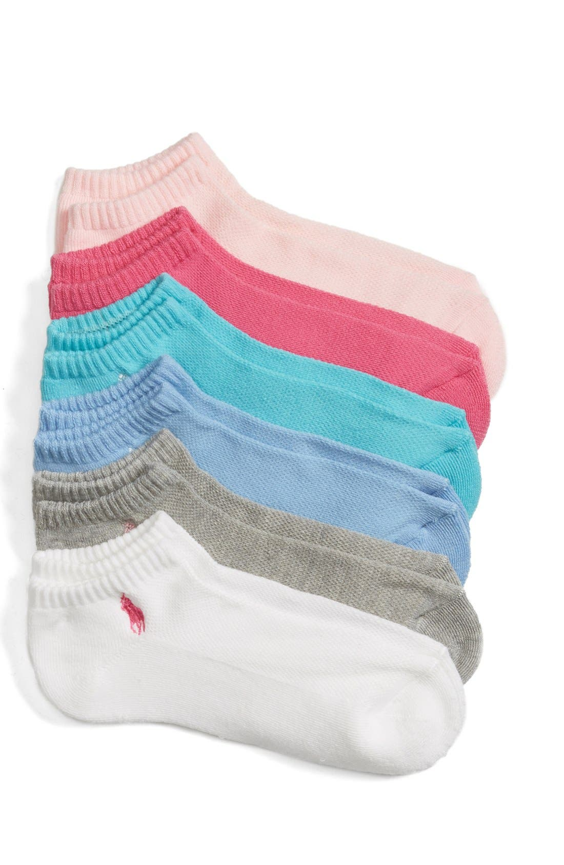 Sport 6-Pack Low-Cut Socks,                             Main thumbnail 7, color,