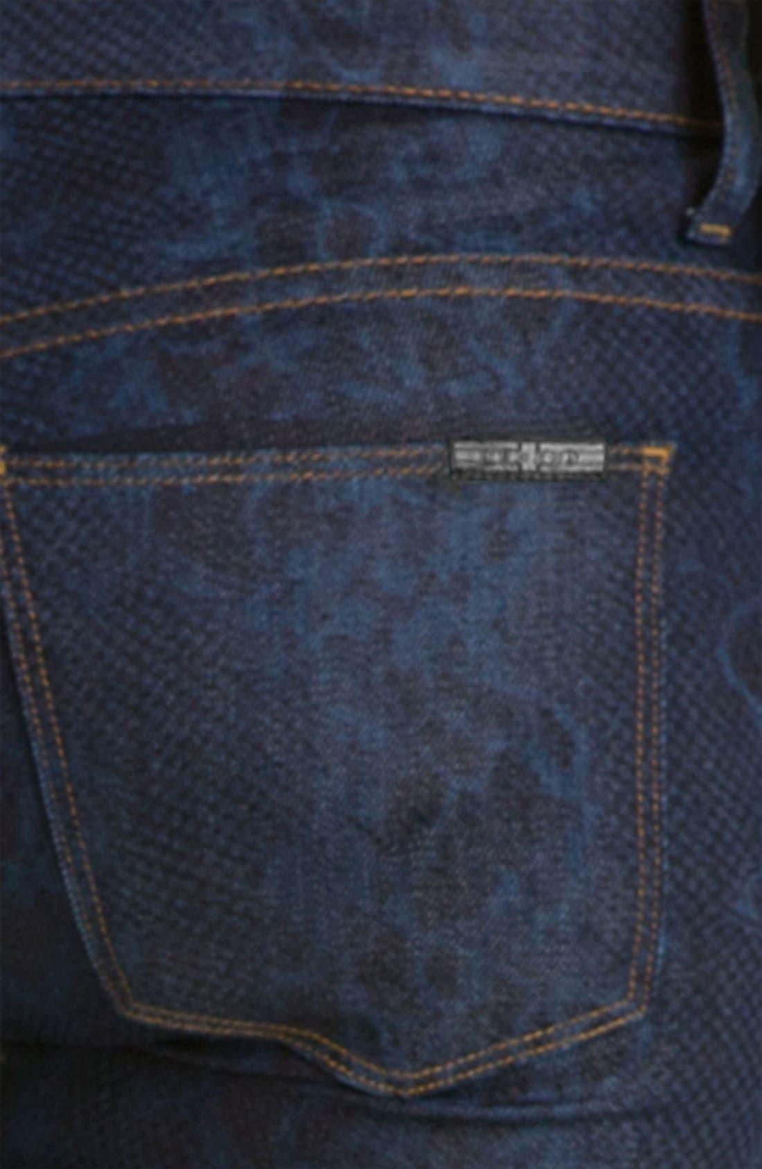 'Nico' Mid Rise Super Skinny Jeans,                             Alternate thumbnail 3, color,