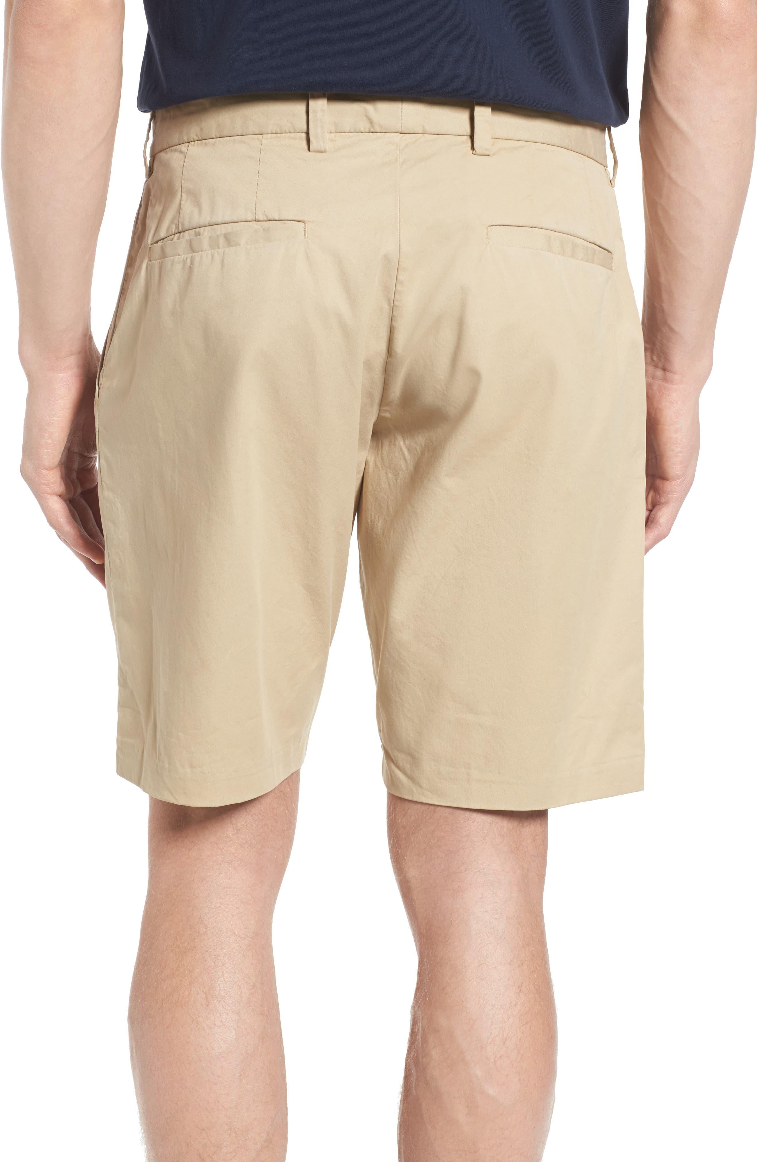 Peach Pie Flat Front Shorts,                             Alternate thumbnail 2, color,                             260