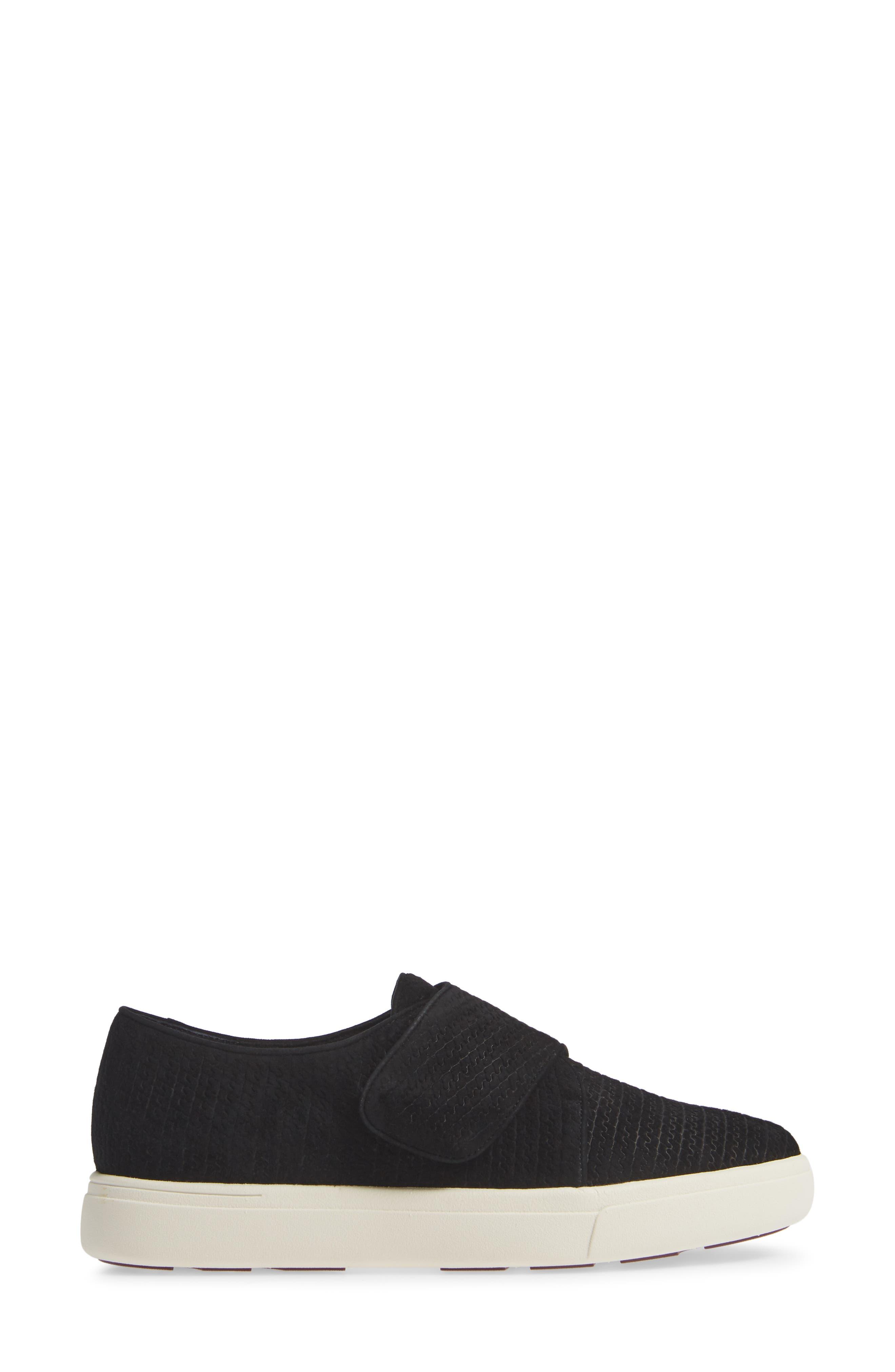 VANELI,                             Oberon Slip-On Sneaker,                             Alternate thumbnail 3, color,                             BLACK SUEDE