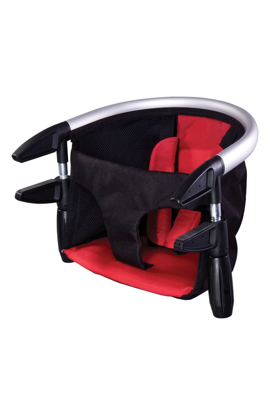 'Lobster<sup>™</sup>' Portable Clip-On Highchair,                             Alternate thumbnail 2, color,                             RED