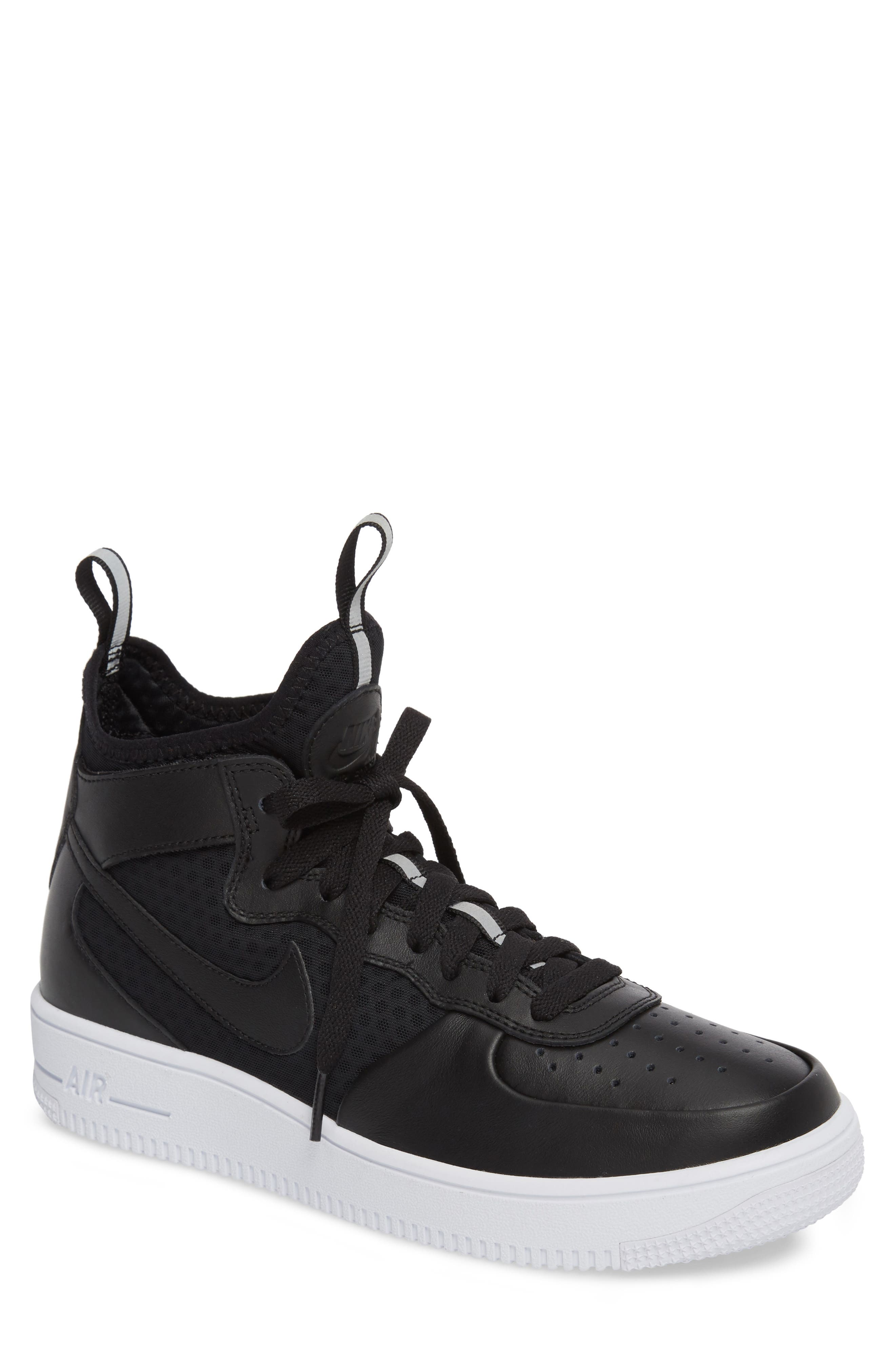 Air Force 1 Ultraforce Mid Sneaker,                         Main,                         color, 001