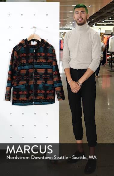 Jacquard Hooded Jacket, sales video thumbnail