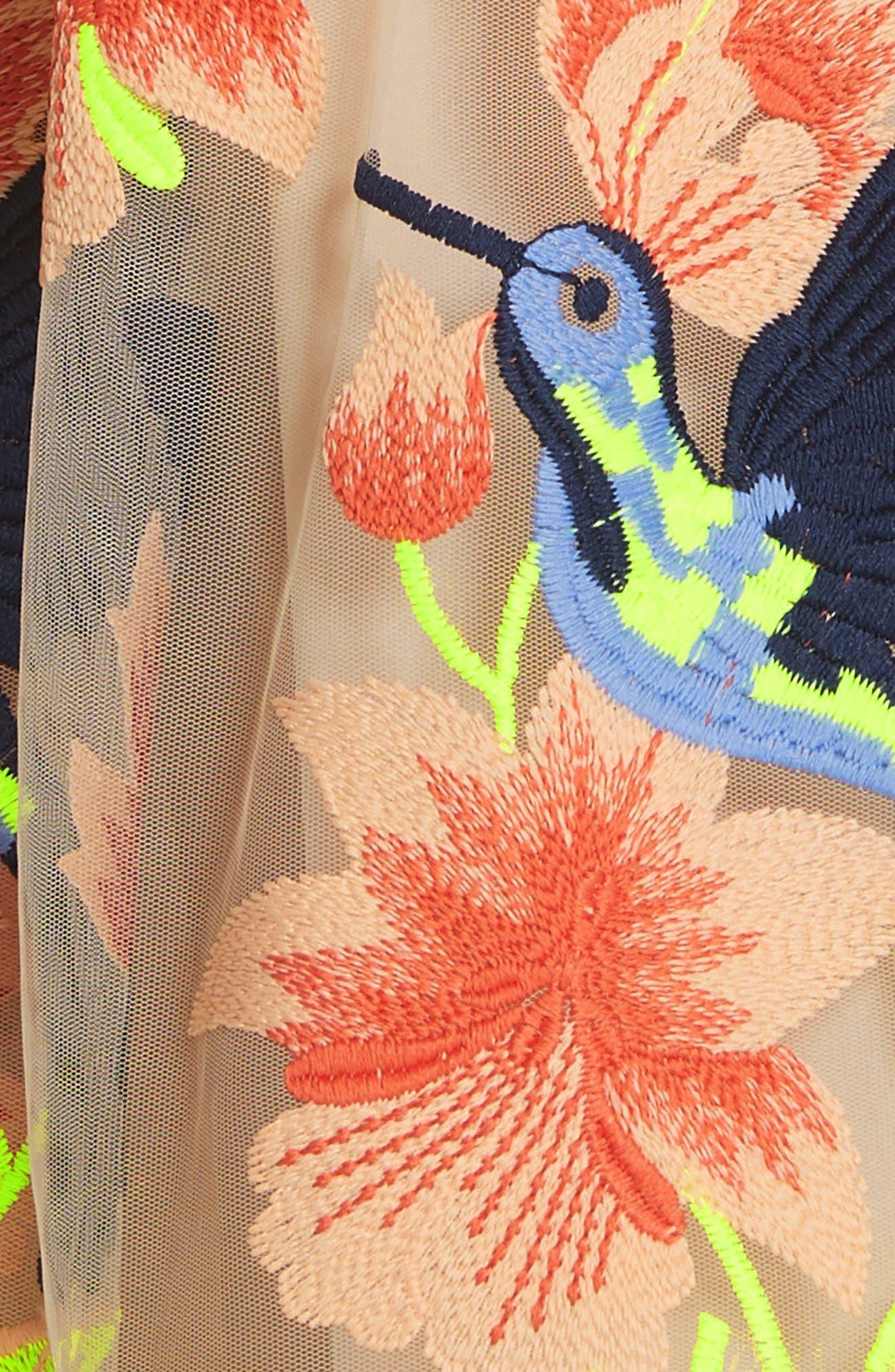 Becca Hummingbird Dress,                             Alternate thumbnail 6, color,                             260