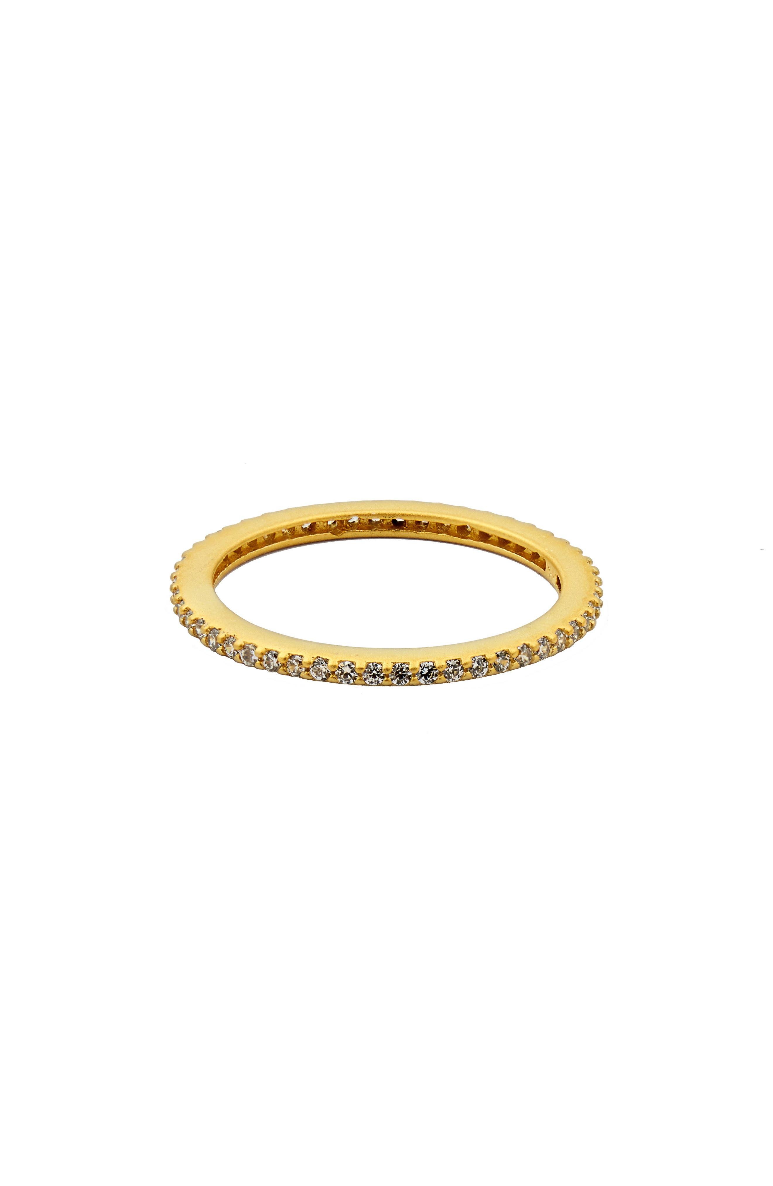 Pavé Stacking Ring,                             Main thumbnail 1, color,                             GOLD