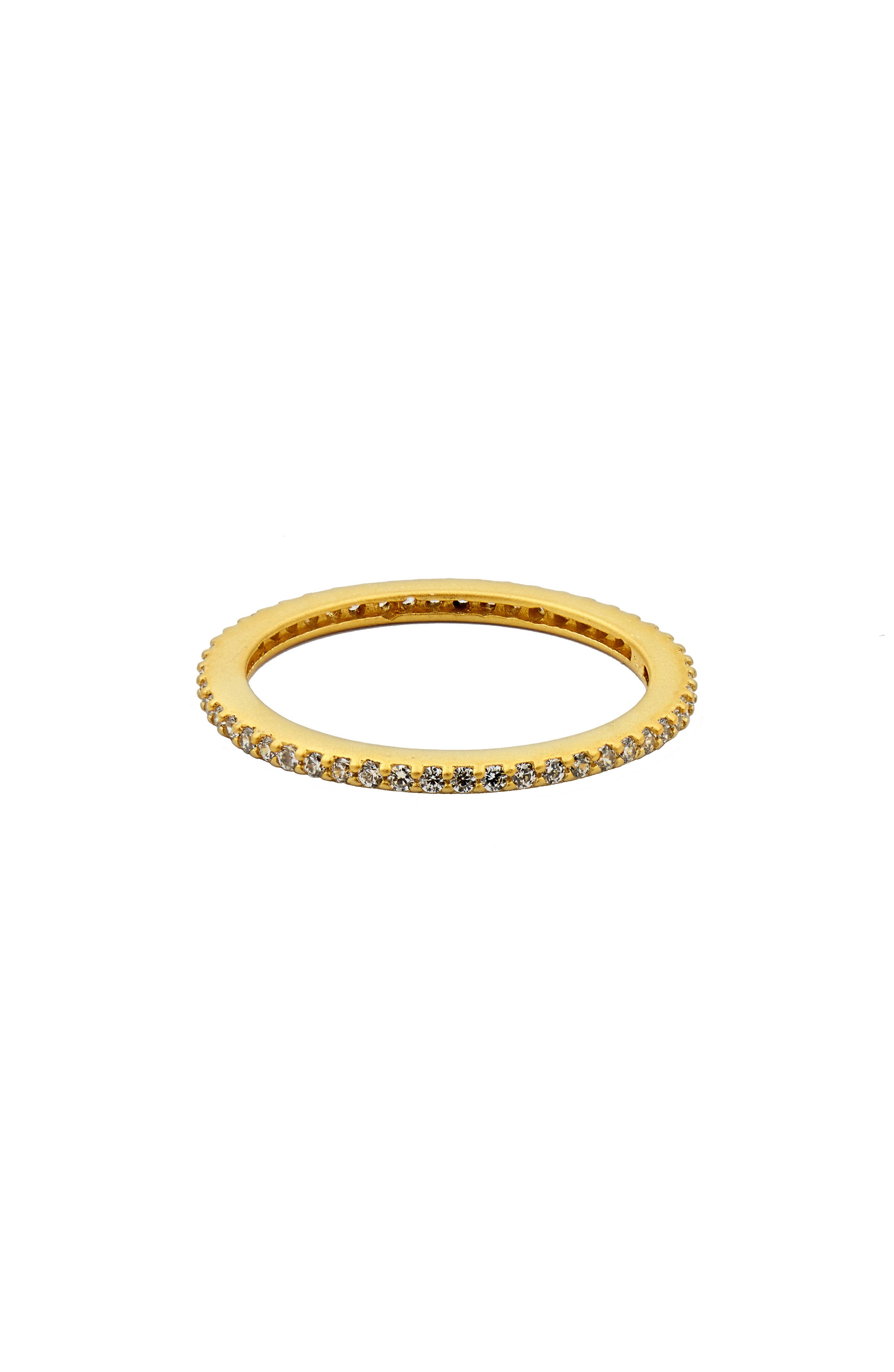 Pavé Stacking Ring,                         Main,                         color, GOLD