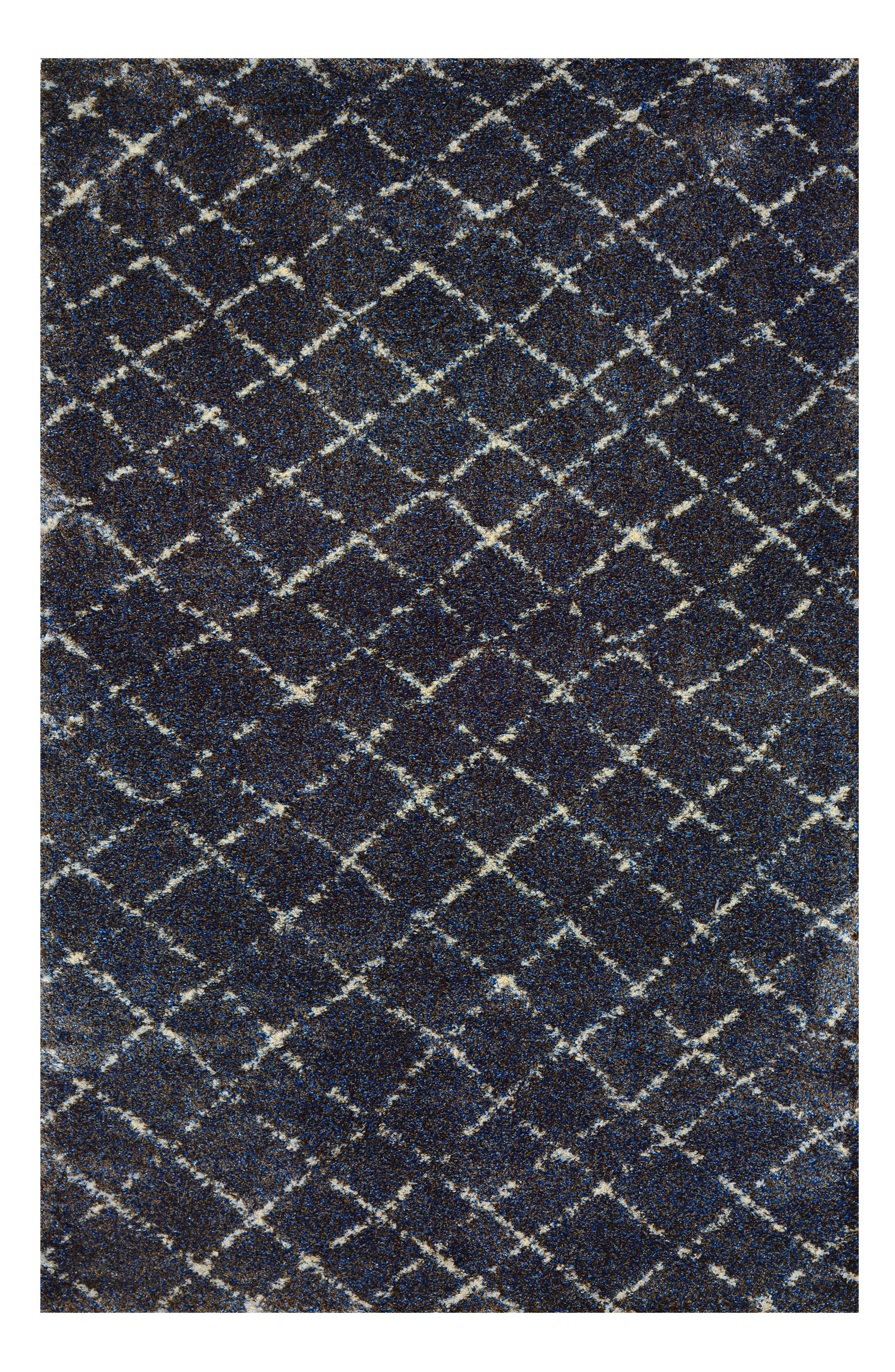 Bromley Gio Area Rug,                             Main thumbnail 1, color,                             NAVY/GREY