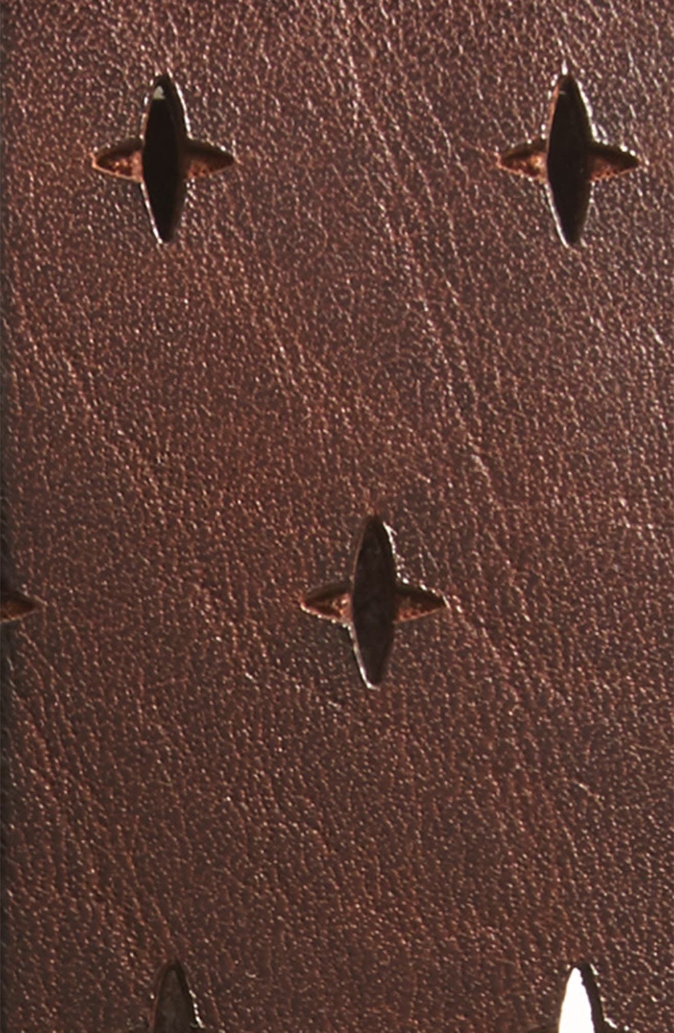 Perforated Leather Belt,                             Alternate thumbnail 2, color,                             200