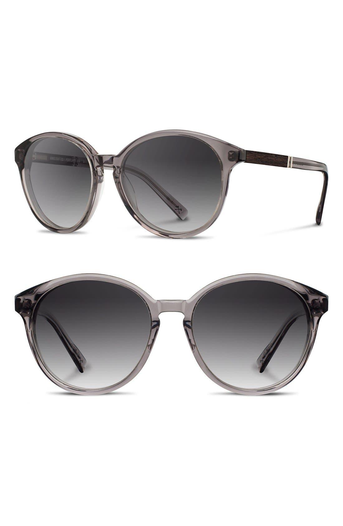 'Bailey' 53mm Round Sunglasses,                             Main thumbnail 3, color,