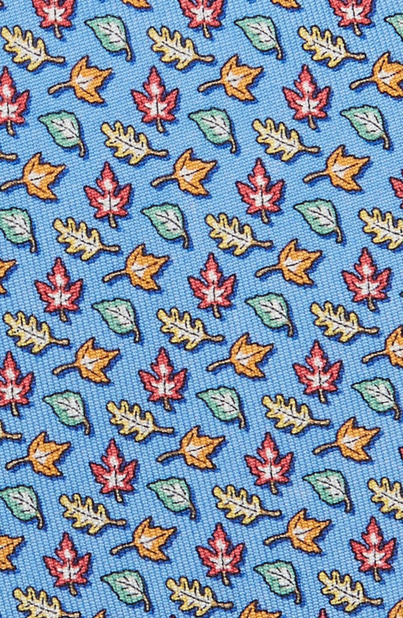 Fall Leaves Silk Tie,                             Alternate thumbnail 2, color,                             453