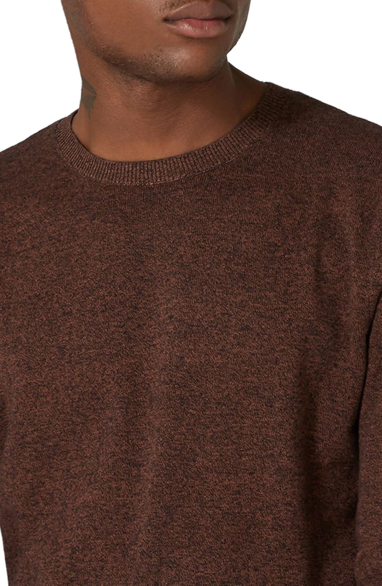 Side Ribbed Slim Fit Sweater,                             Alternate thumbnail 19, color,