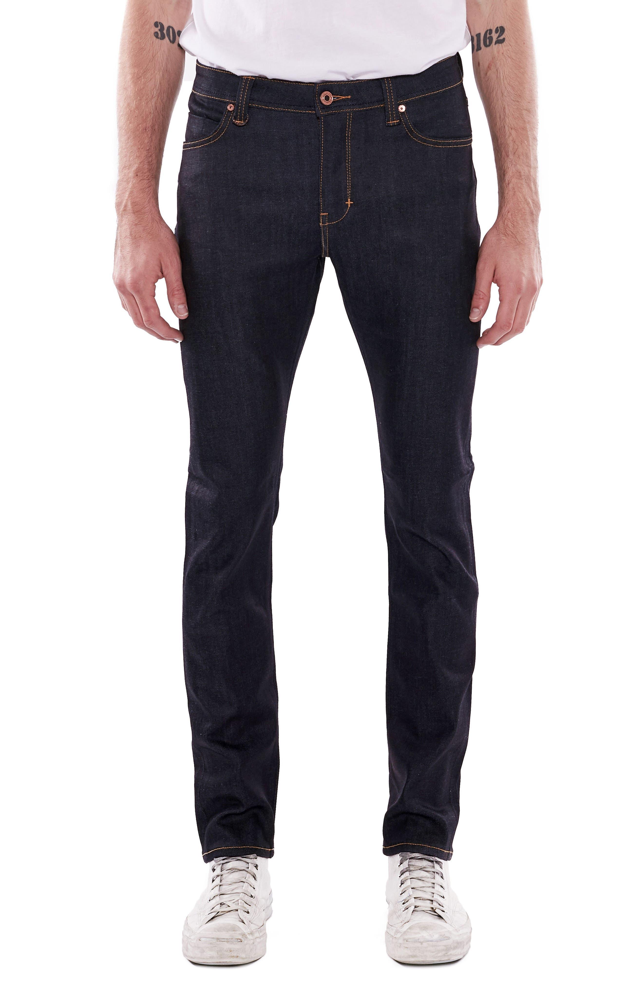NEUW Iggy Skinny Jeans, Main, color, RAW STRETCH