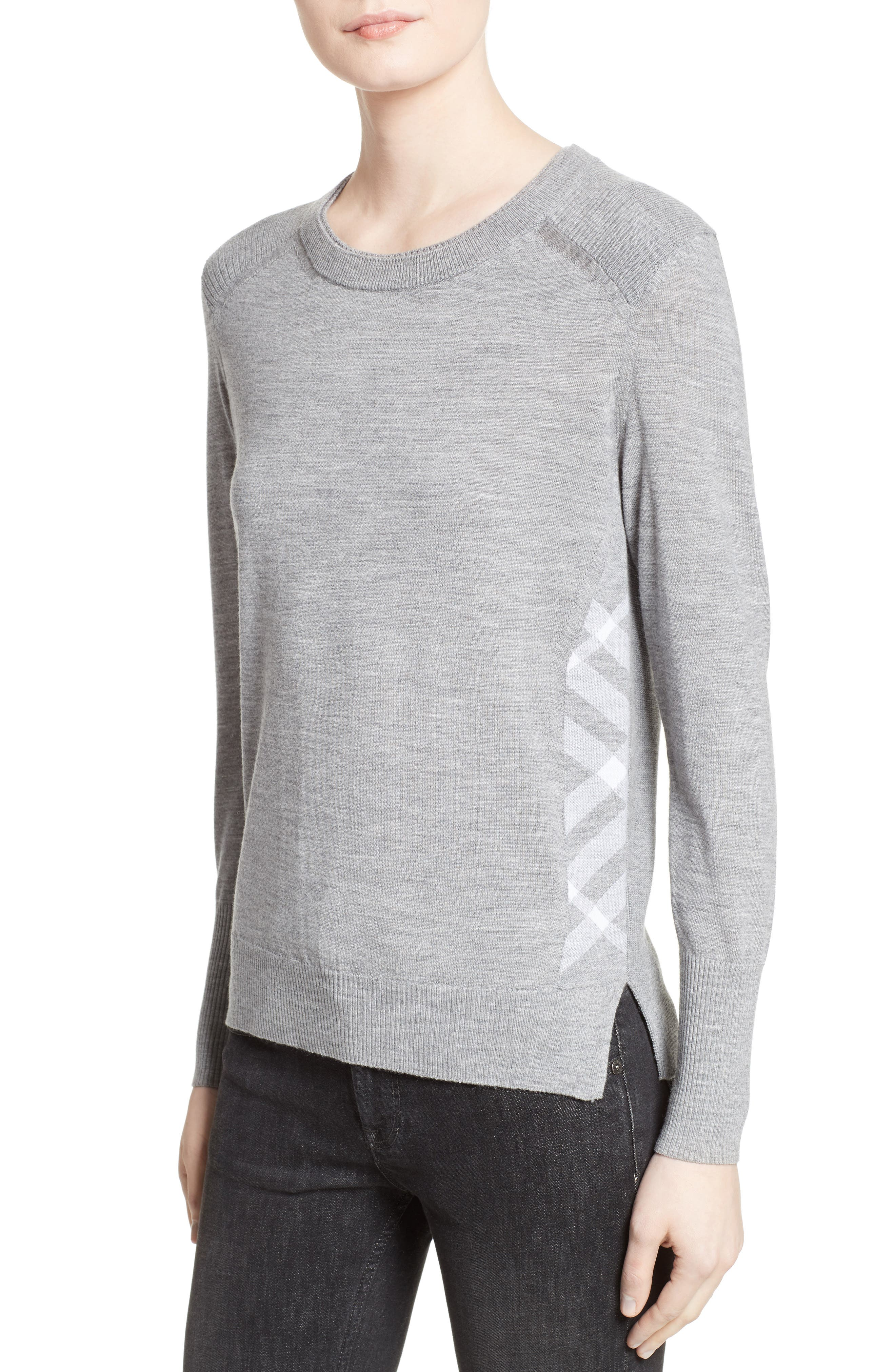 Meigan Merino Wool Sweater,                             Alternate thumbnail 8, color,