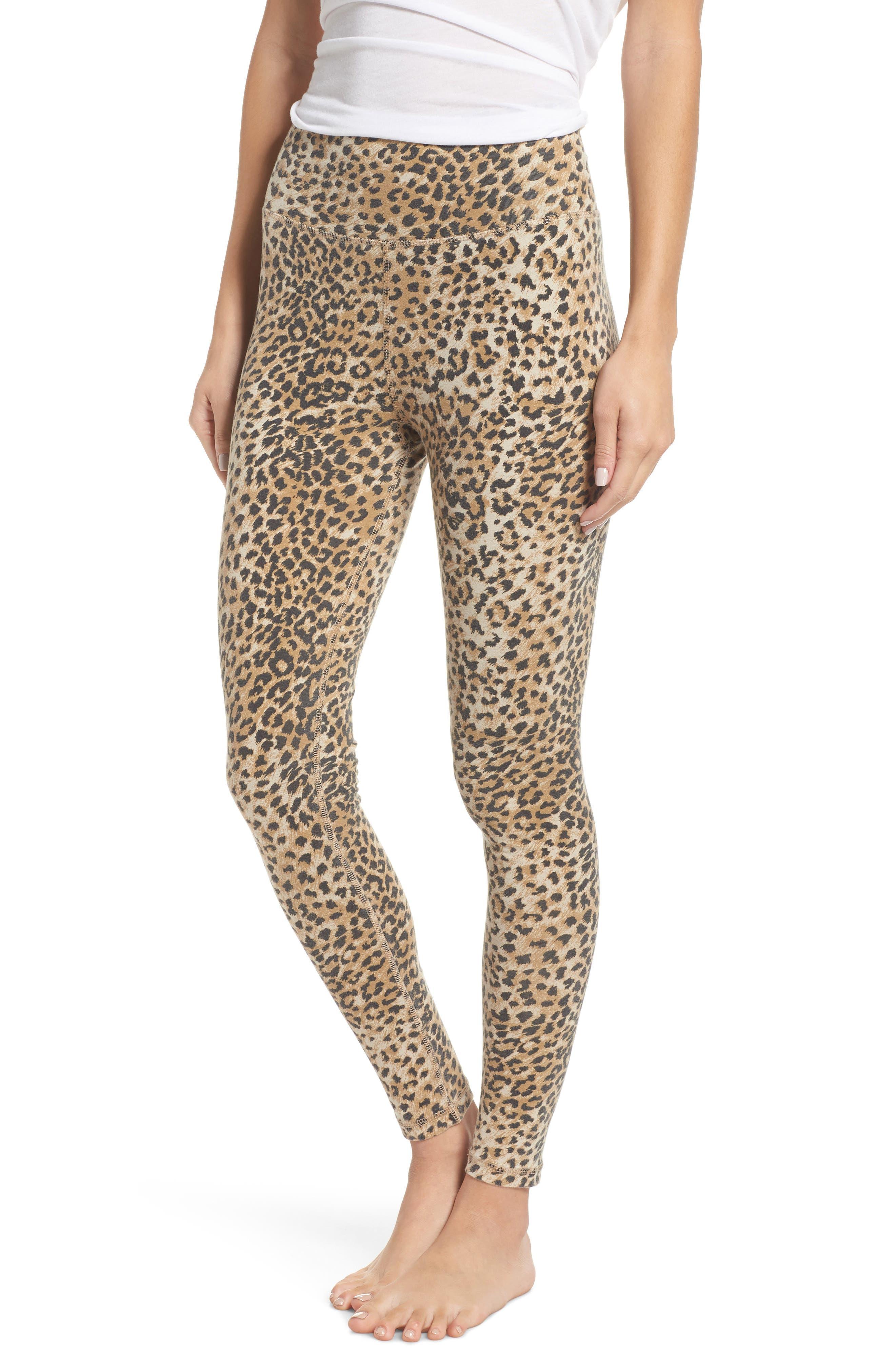 Ragdoll Leopard Leggings, Brown