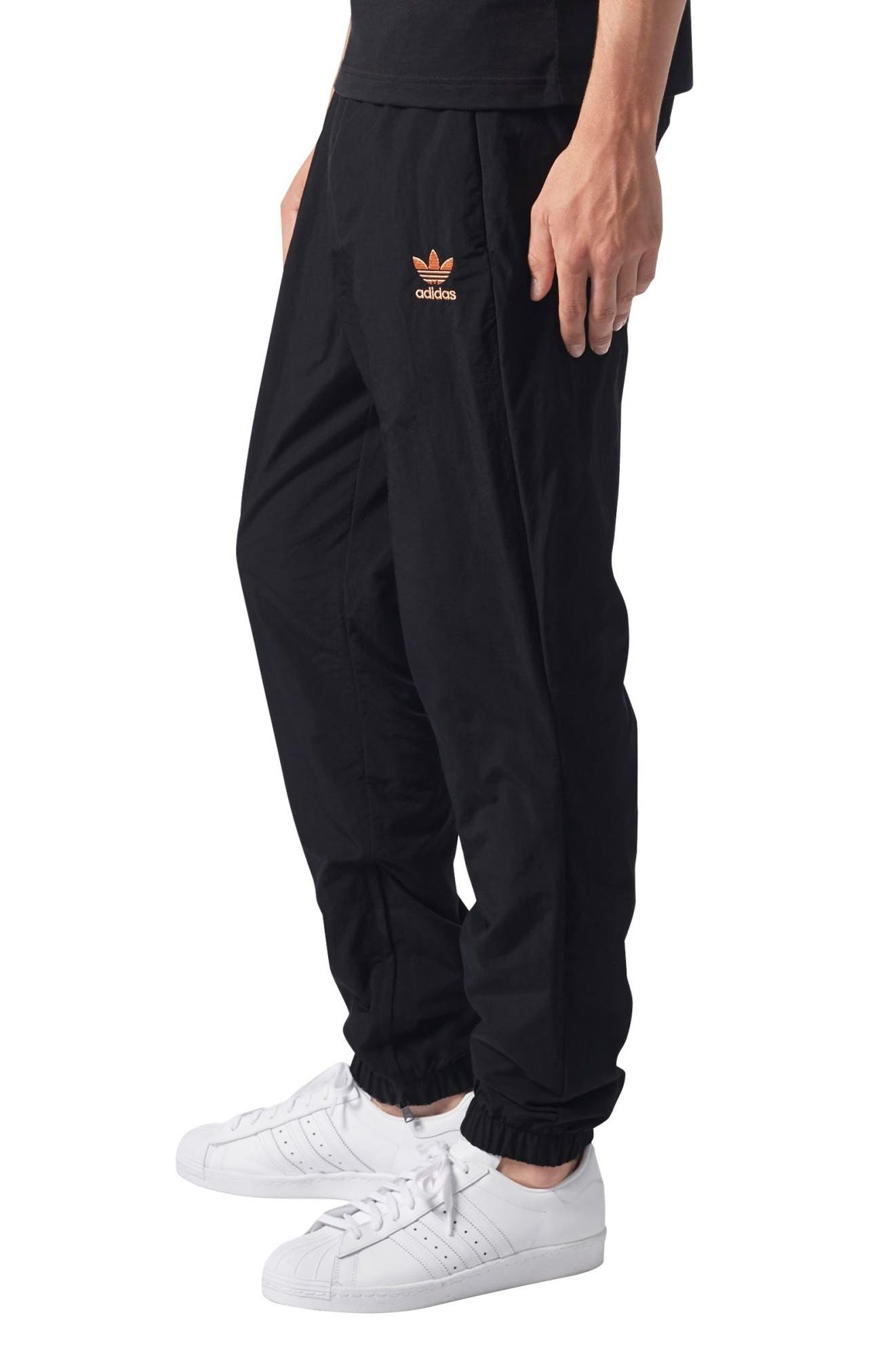 Pharrell Williams Hu Hiking Track Pants,                             Alternate thumbnail 3, color,                             001