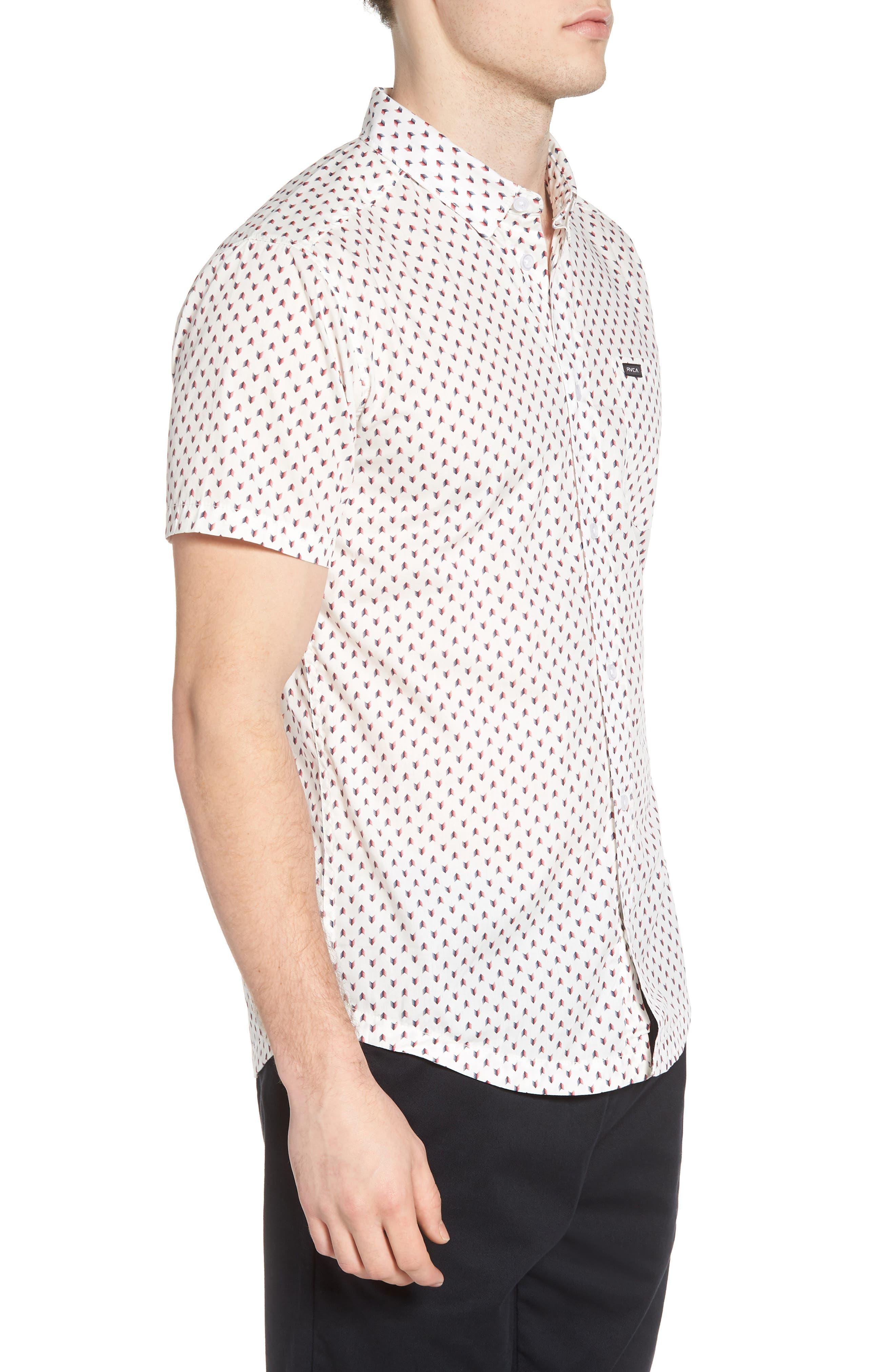 Arrowed Woven Shirt,                             Alternate thumbnail 6, color,