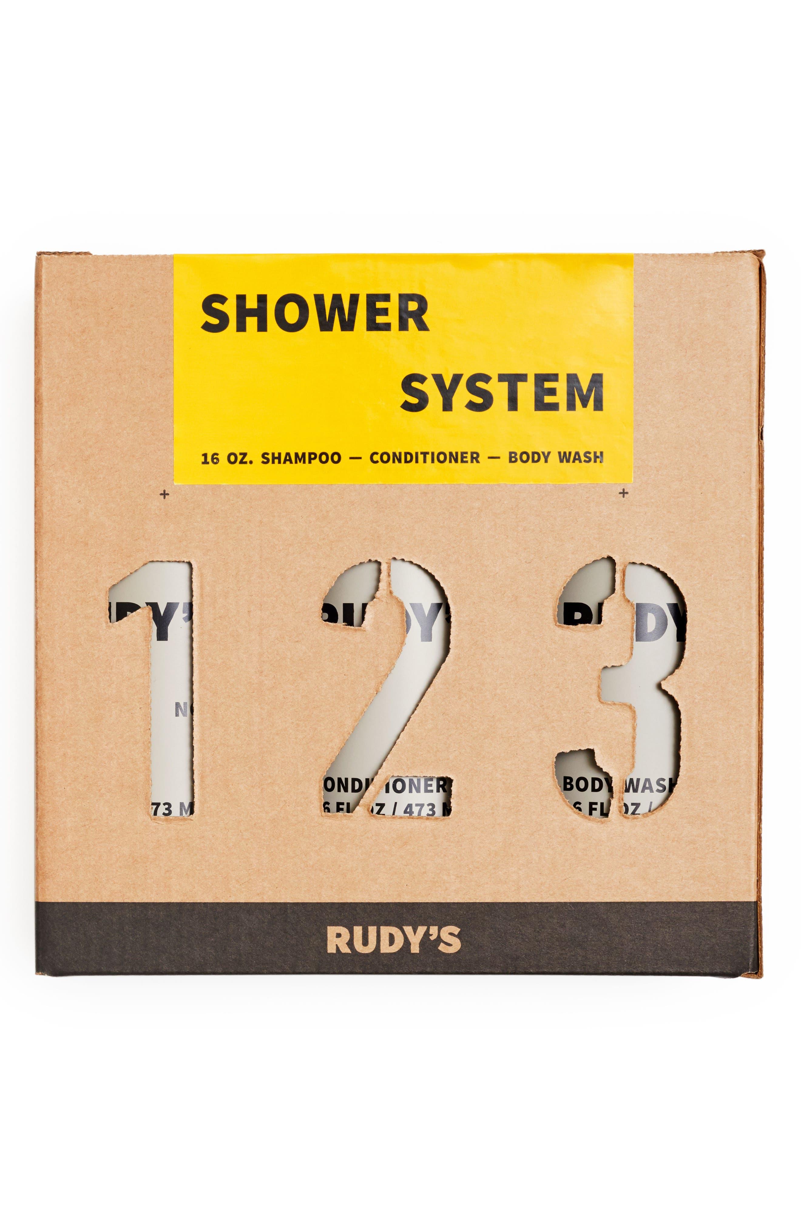 Barbershop 1-2-3 Shower System,                             Alternate thumbnail 2, color,                             NO COLOR