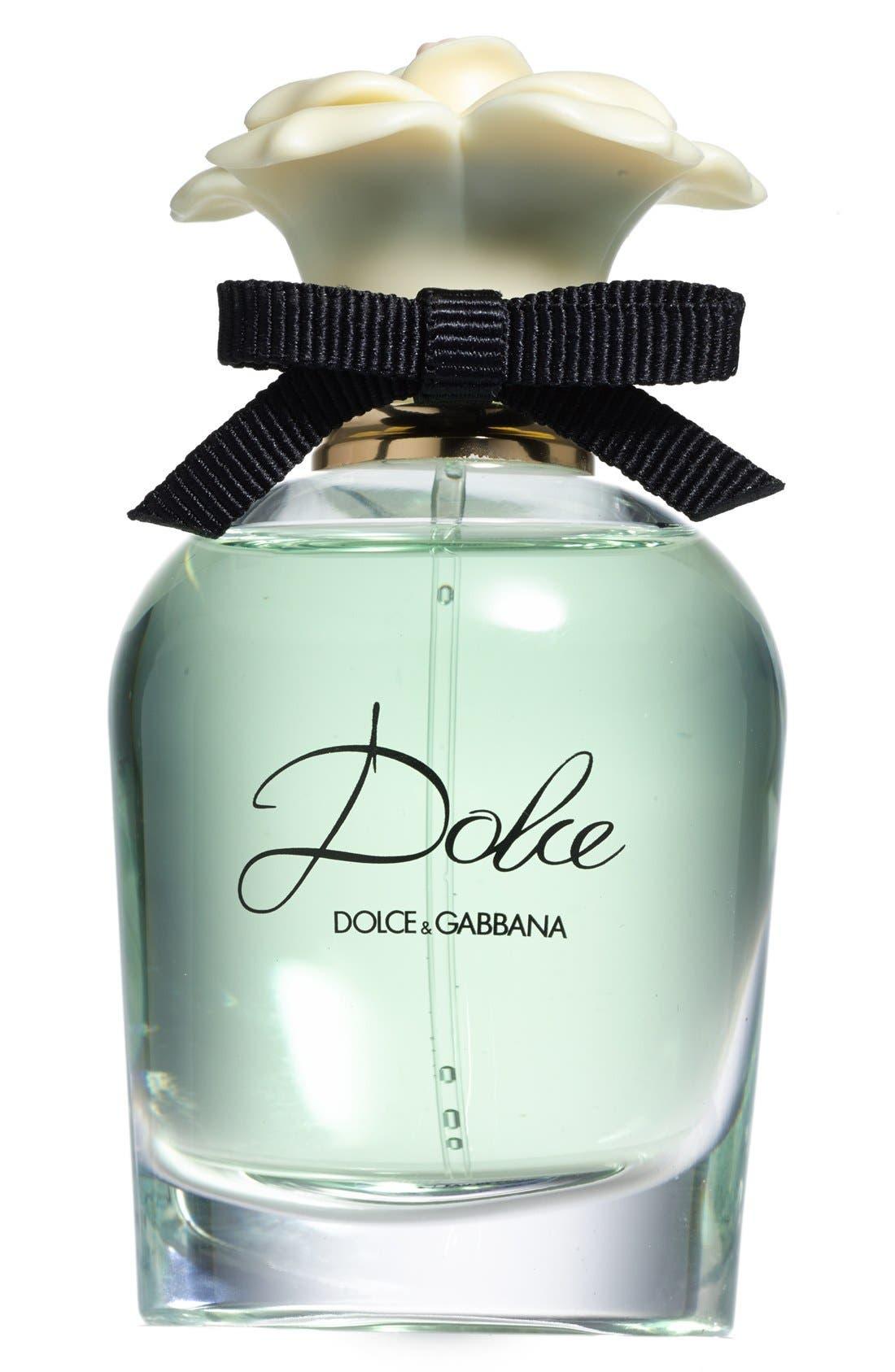 Gabbana Beauty 'Dolce' Eau de Parfum Spray,                             Main thumbnail 1, color,                             NO COLOR