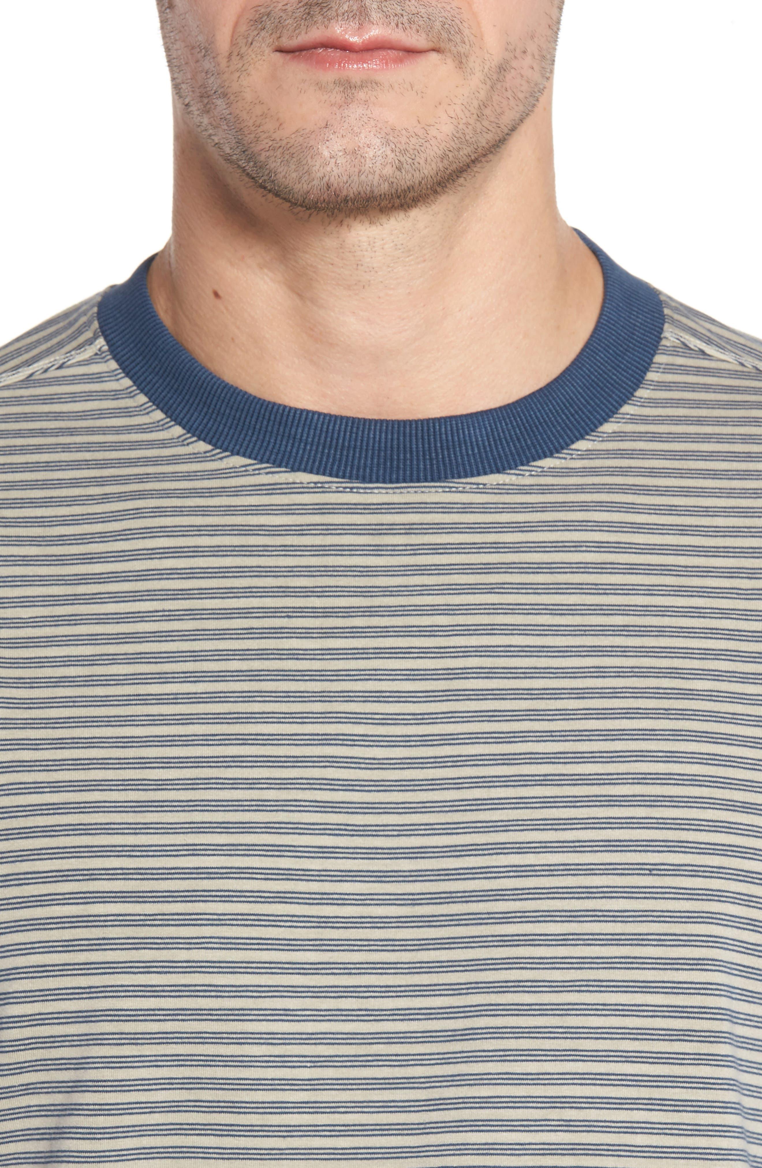 Iverson Long Sleeve Striped T-Shirt,                             Alternate thumbnail 4, color,                             290