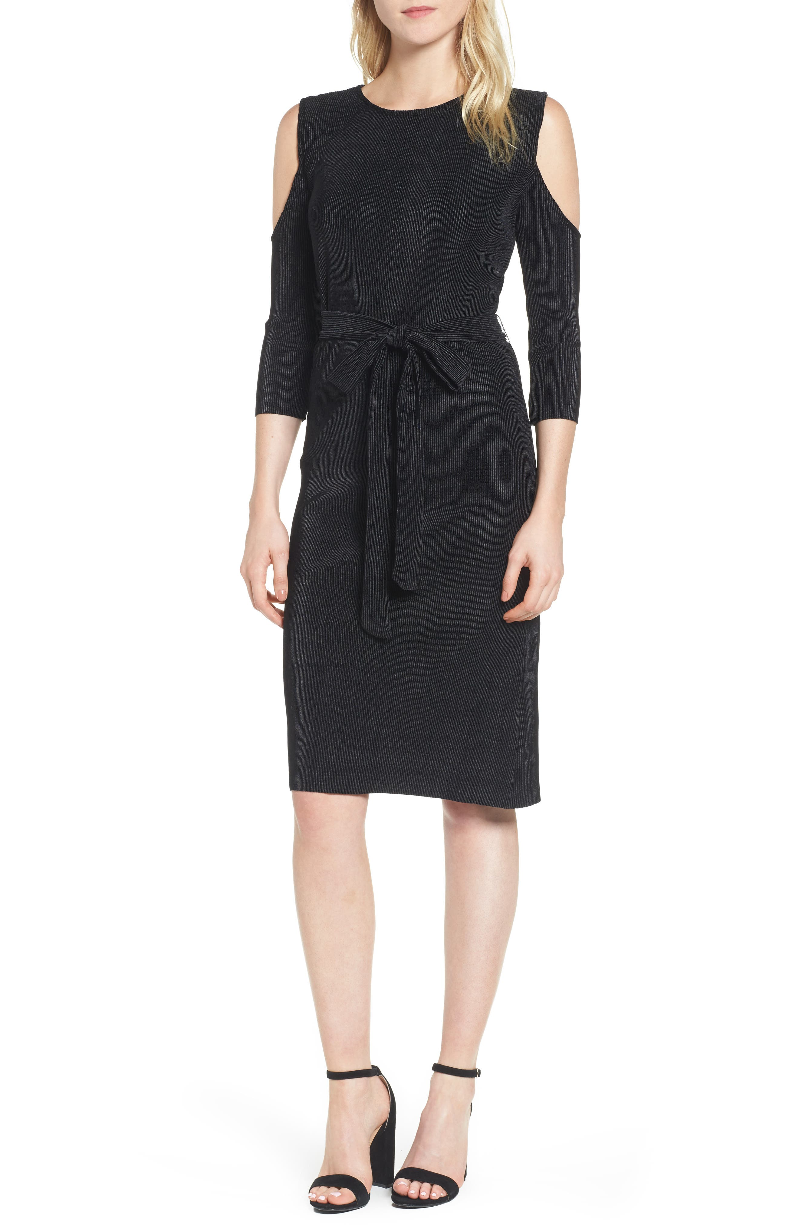 Bishop + Young Sasha Cold Shoulder Dress,                         Main,                         color,