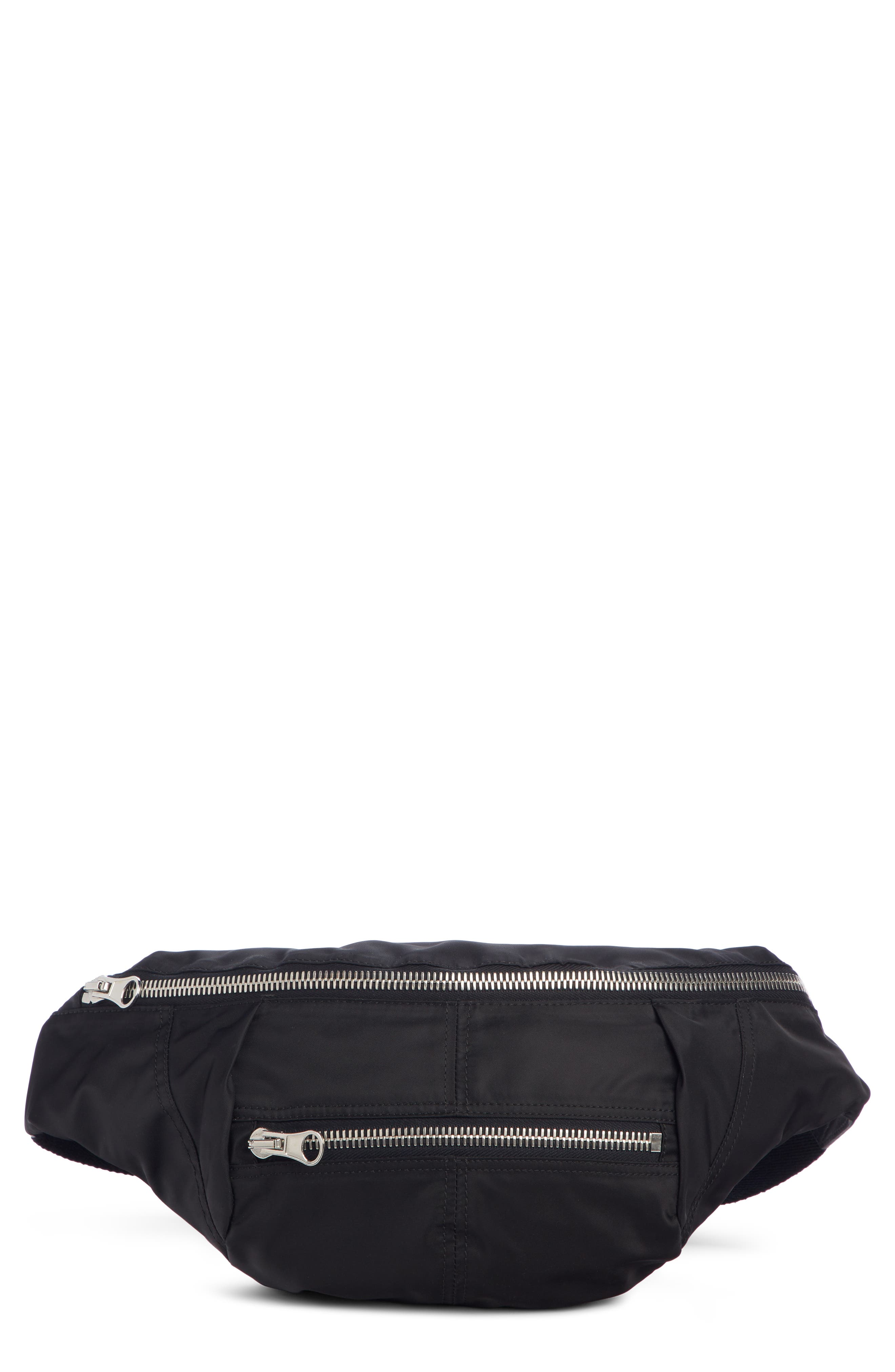Noomi Fanny Pack, Main, color, BLACK