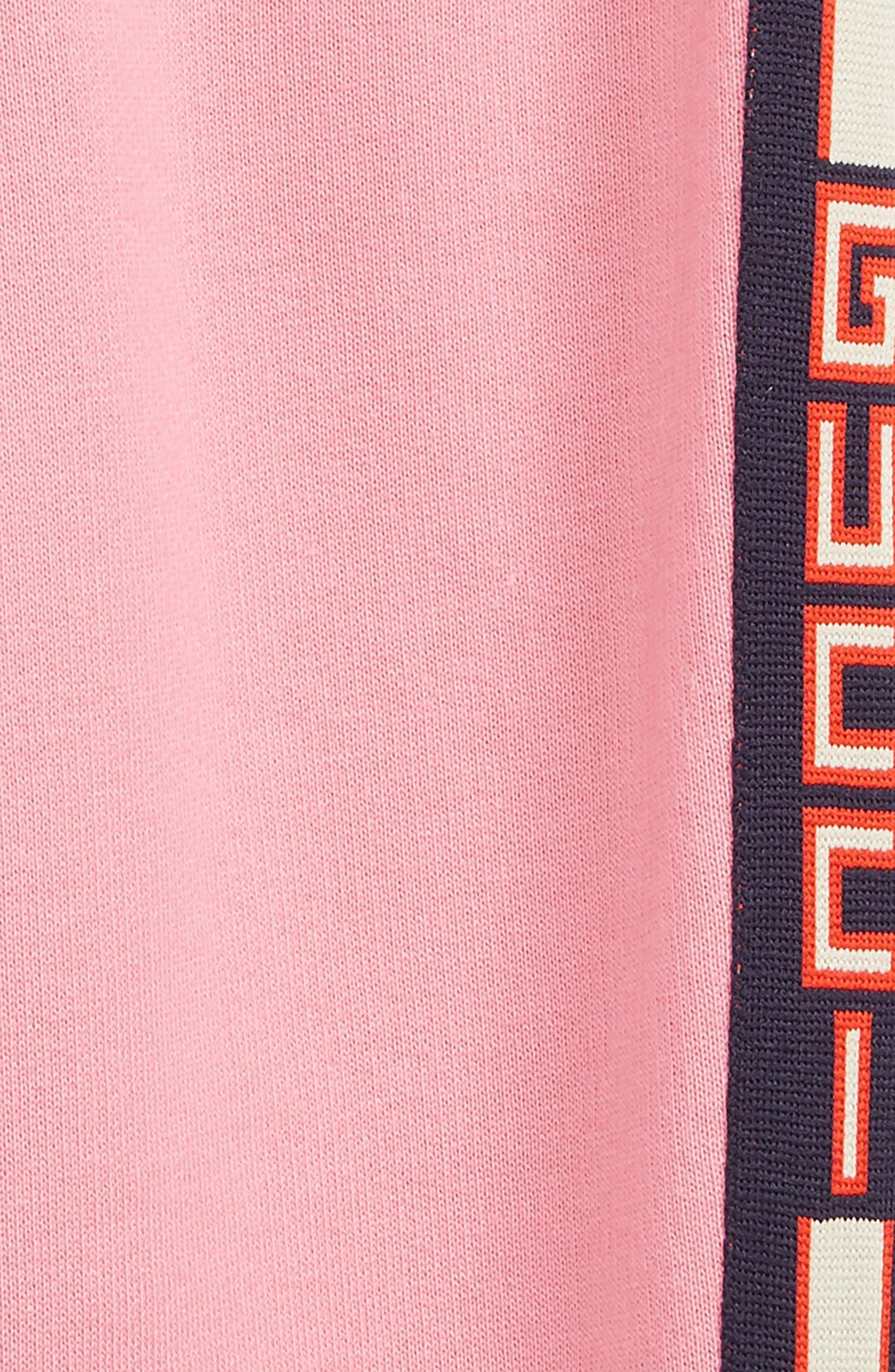 GUCCI,                             Stripe Jogger Sweatpants,                             Alternate thumbnail 2, color,                             PINK LADY/ BLUE/ RED