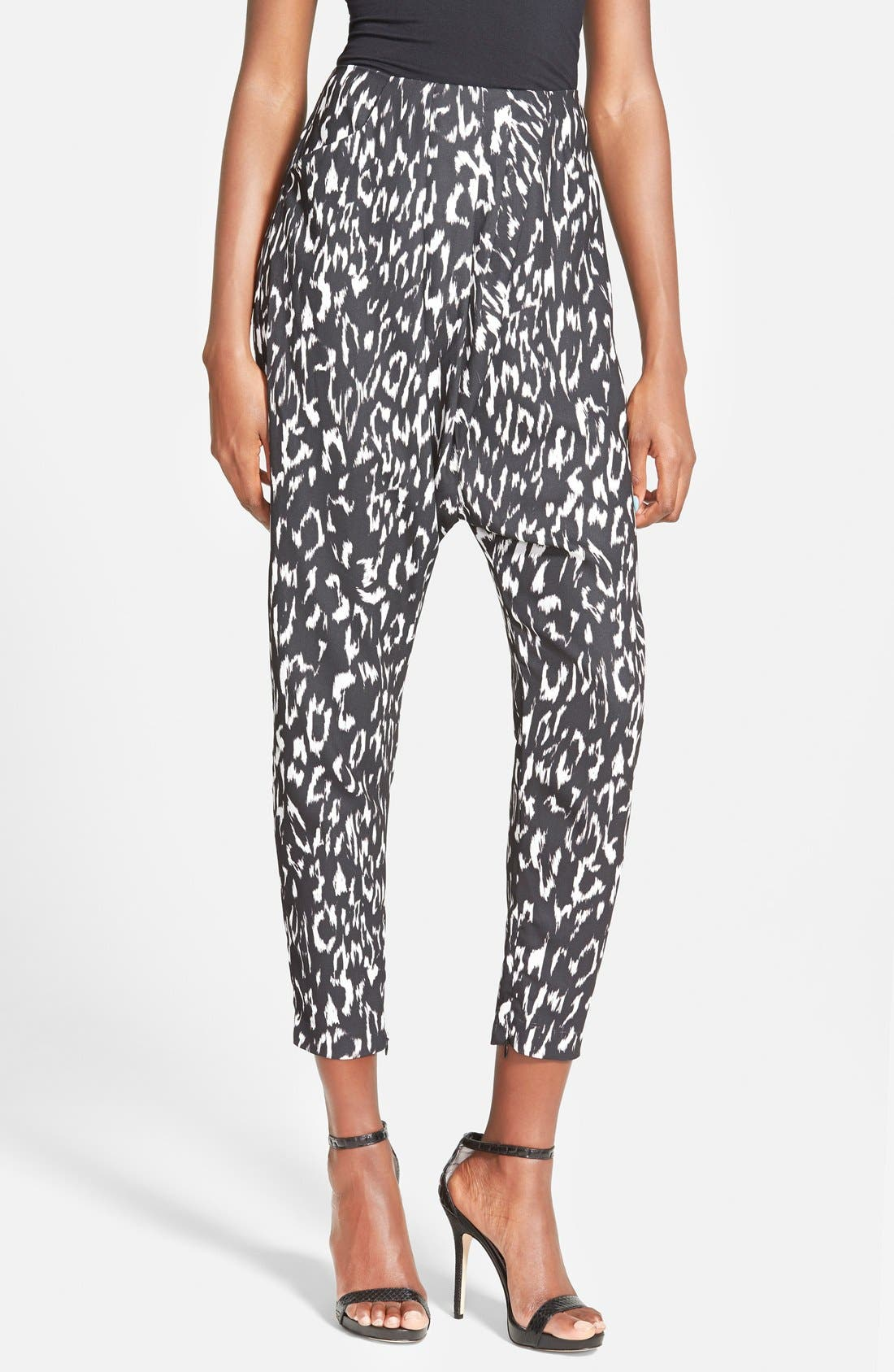 the Label 'Anthology' Print Pants, Main, color, 277