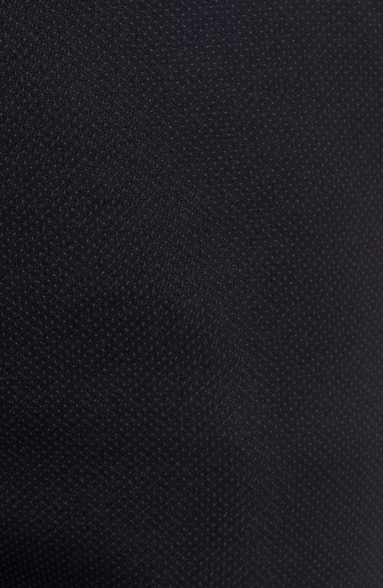 Unstoppable Move Airgap Pants,                             Alternate thumbnail 5, color,                             BLACK/ CHARCOAL/ BLACK