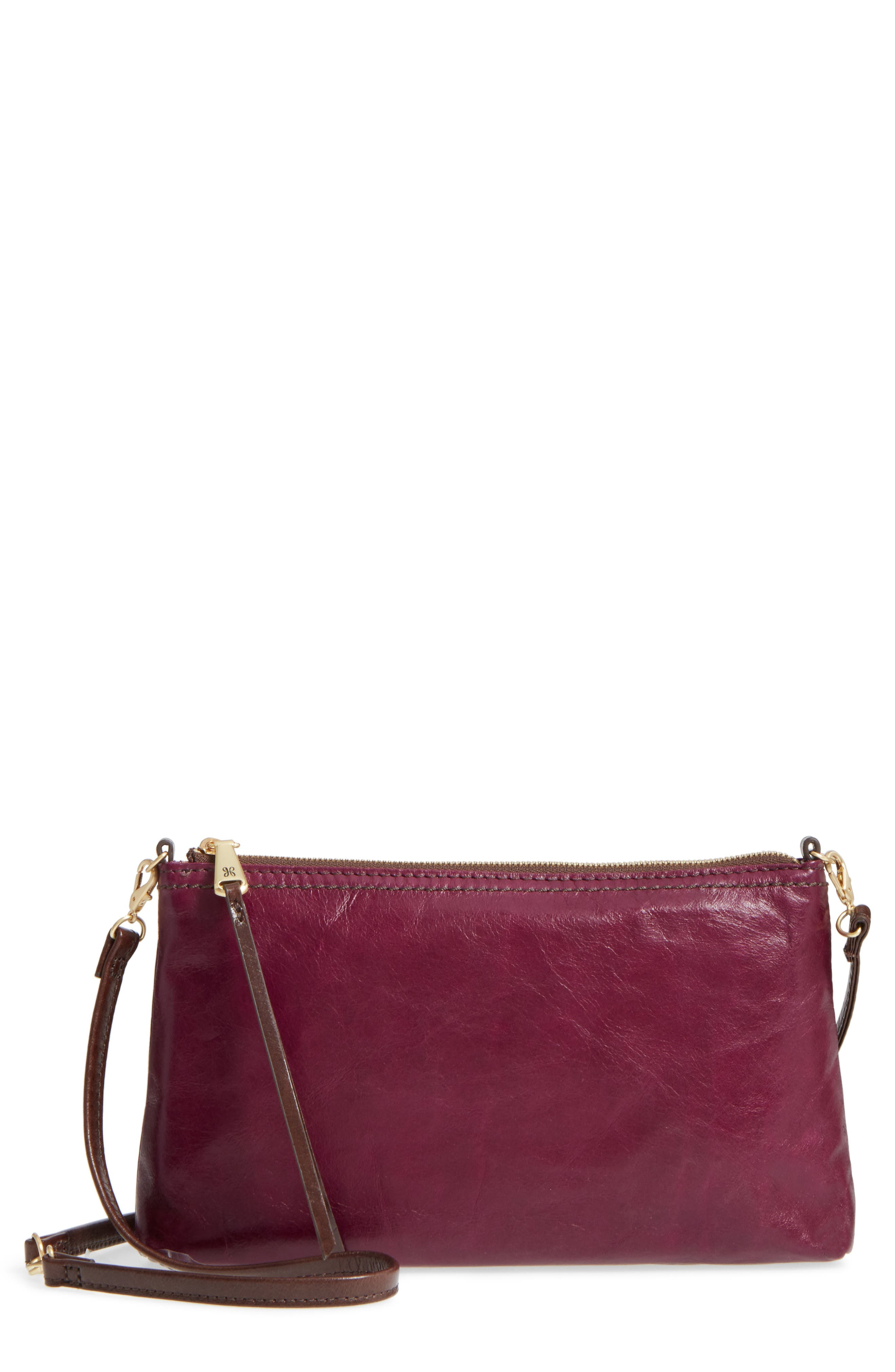 'Darcy' Leather Crossbody Bag,                             Main thumbnail 6, color,