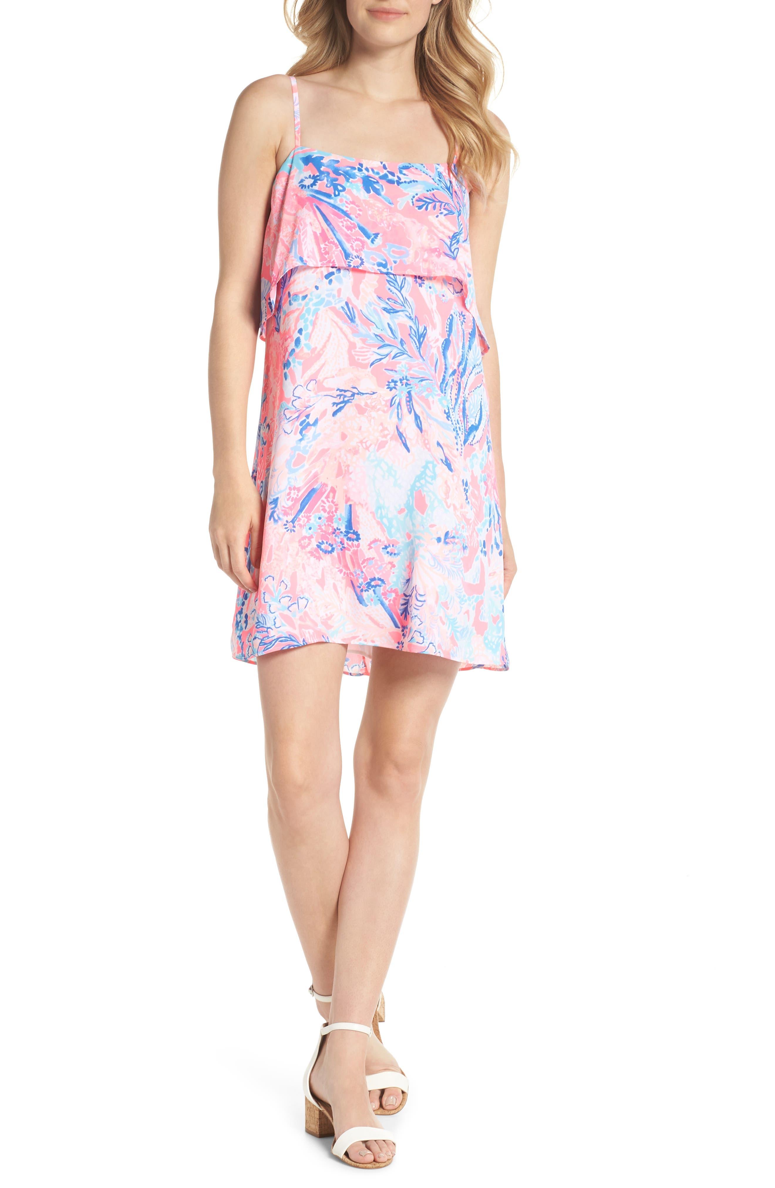 Lexi Shift Dress,                             Alternate thumbnail 5, color,                             686