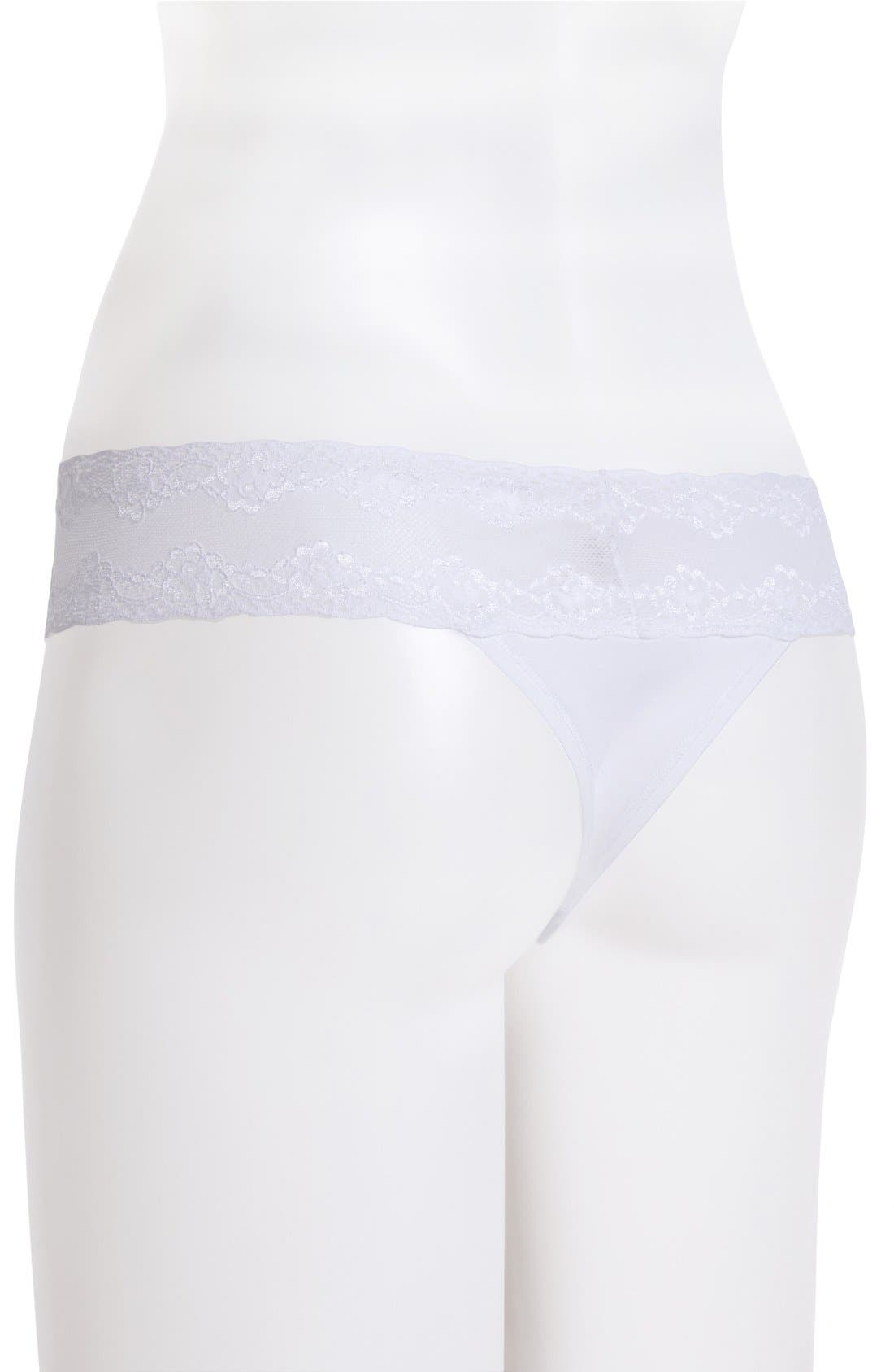 Bliss Perfection Thong,                             Alternate thumbnail 246, color,