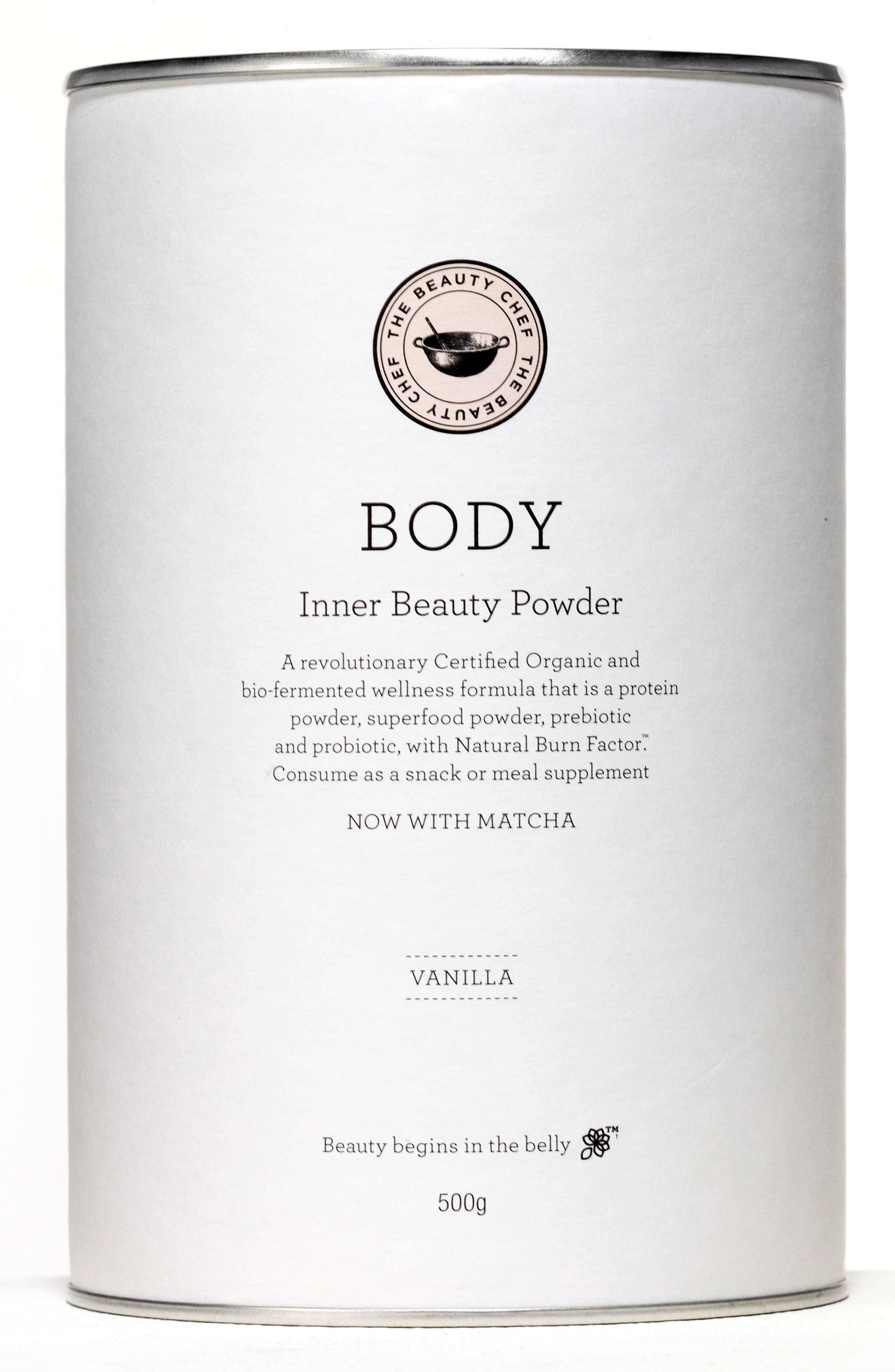 Body Inner Beauty Powder with Matcha,                             Main thumbnail 1, color,                             VANILLA WITH MATCHA