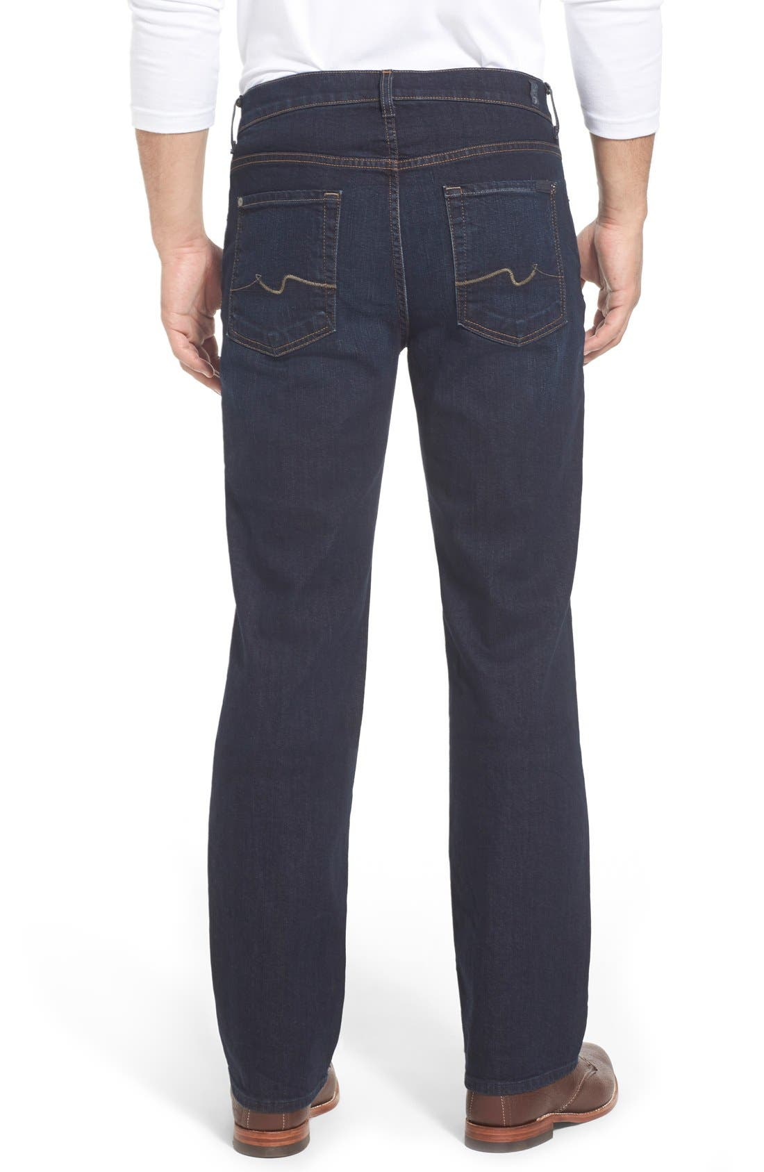 'Austyn- LuxePerformance' Relaxed Fit Jeans,                             Alternate thumbnail 6, color,