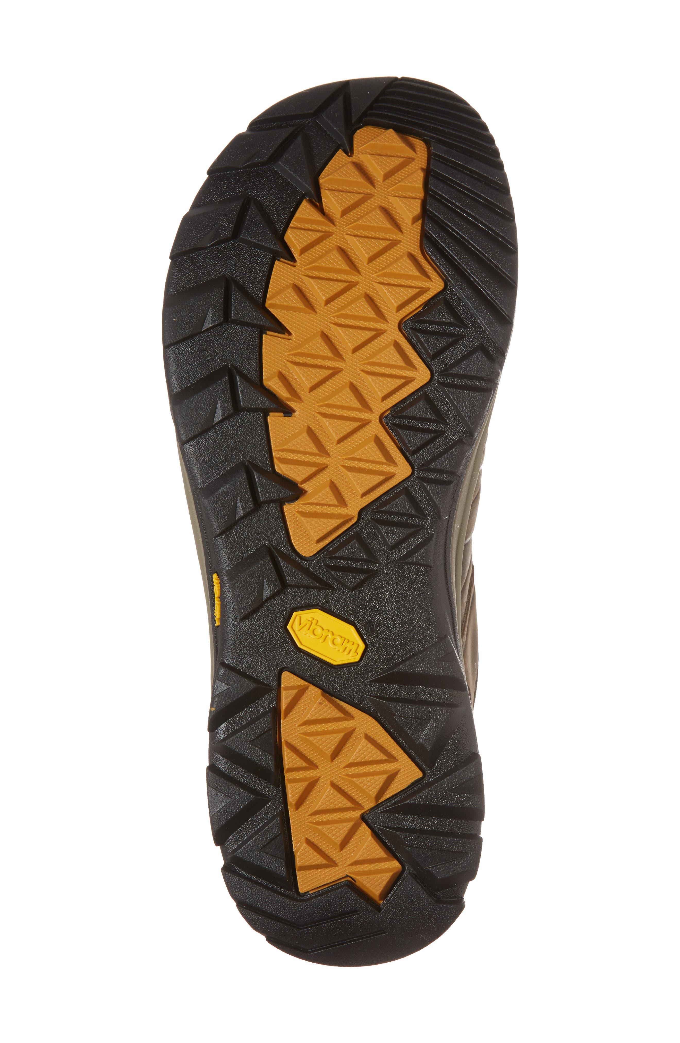 Arrowood Riva Waterproof Sneaker,                             Alternate thumbnail 6, color,                             WALNUT LEATHER