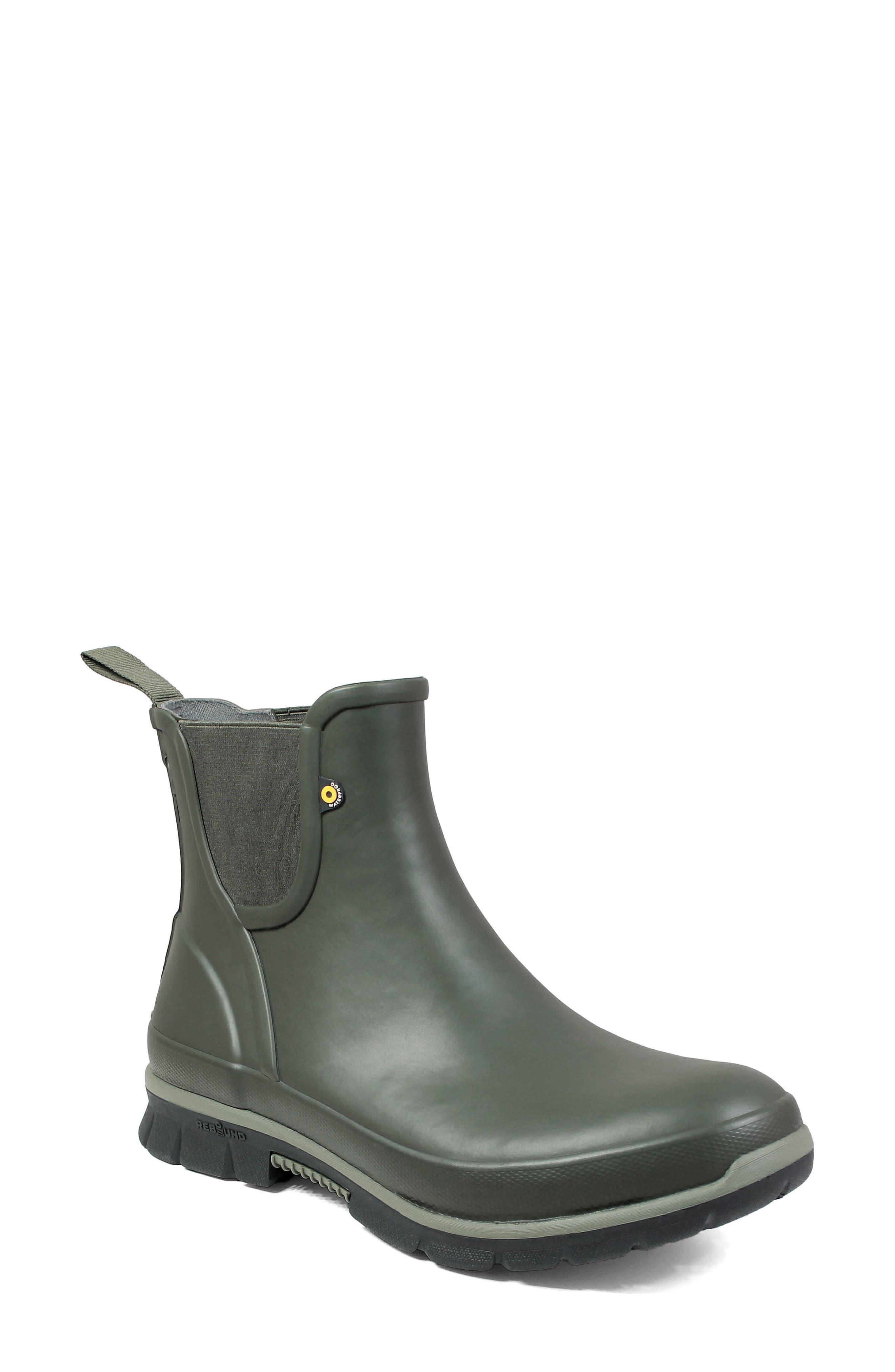 Bogs Amanda Waterproof Rain Boot, Green