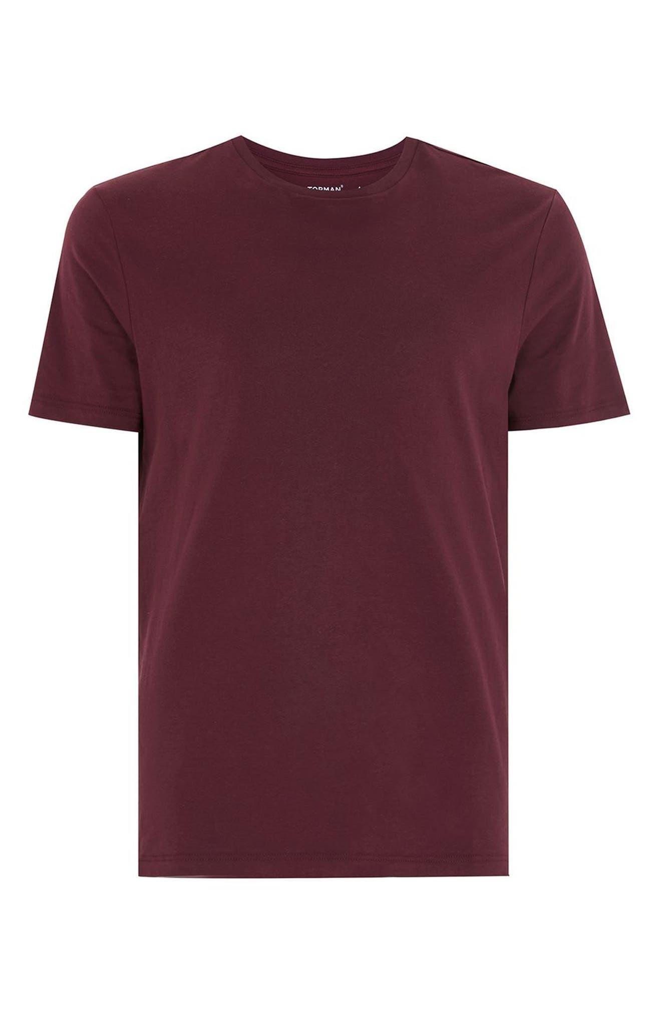 Slim Fit Crewneck T-Shirt,                             Alternate thumbnail 307, color,