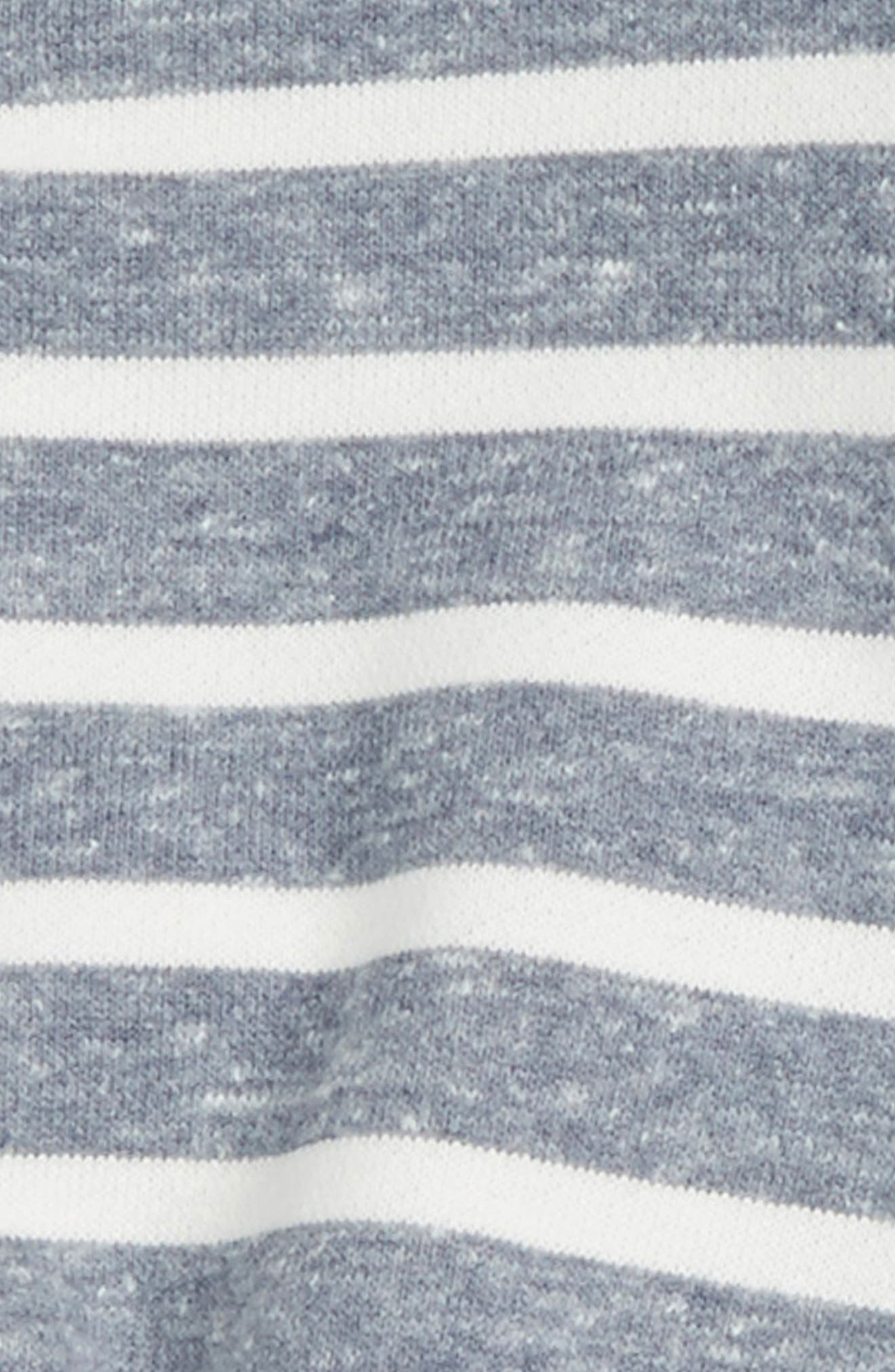 Stripe Sweatshirt & Denim Pants,                             Alternate thumbnail 2, color,                             402