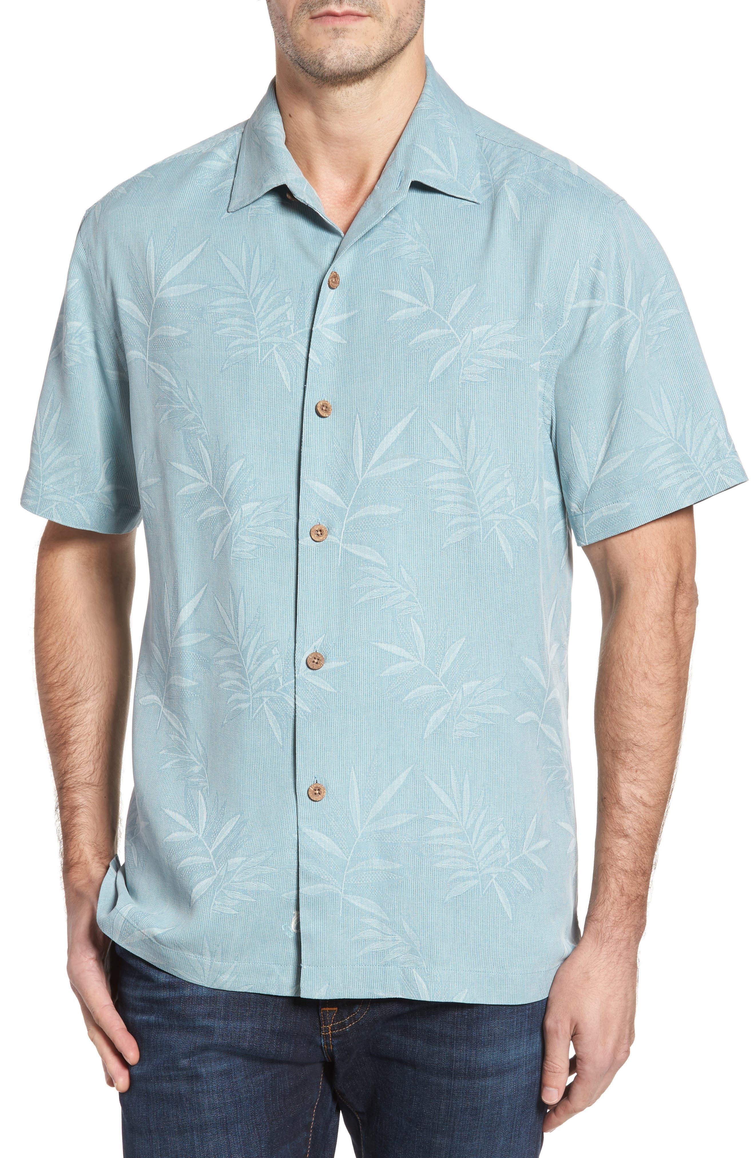 Luau Floral Silk Shirt,                             Main thumbnail 1, color,                             301