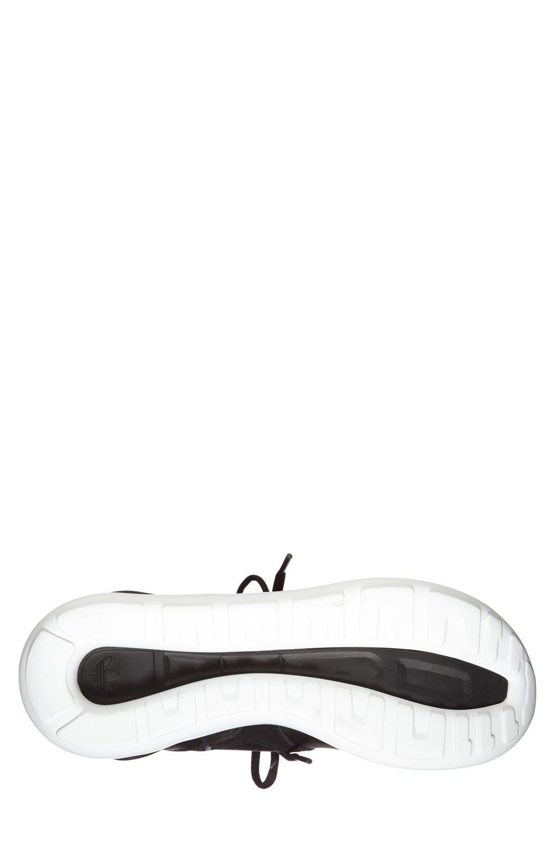 ADIDAS,                             'Tubular Runner' Sneaker,                             Alternate thumbnail 4, color,                             001