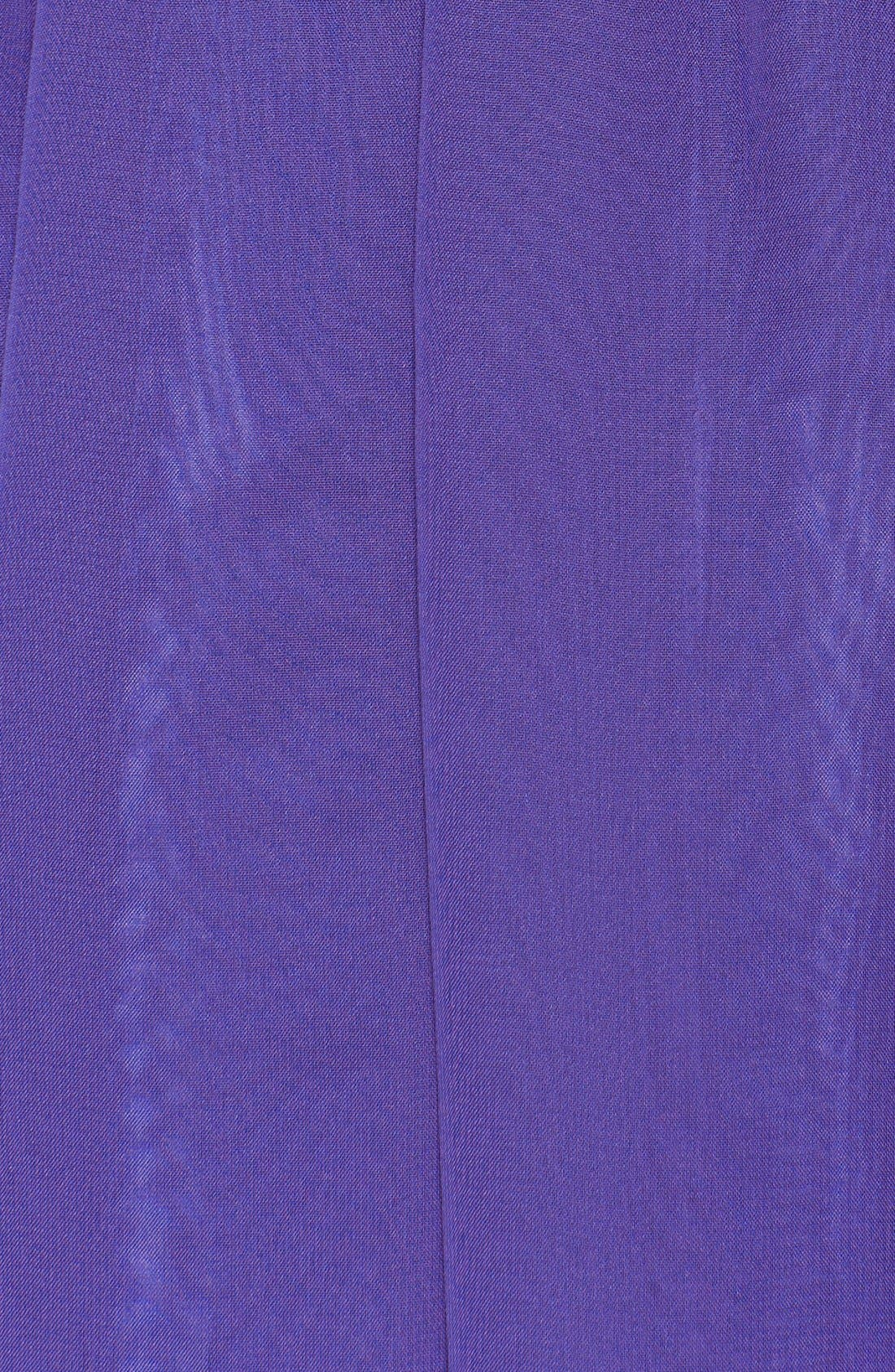 Strapless Ruched Chiffon Gown,                             Alternate thumbnail 23, color,