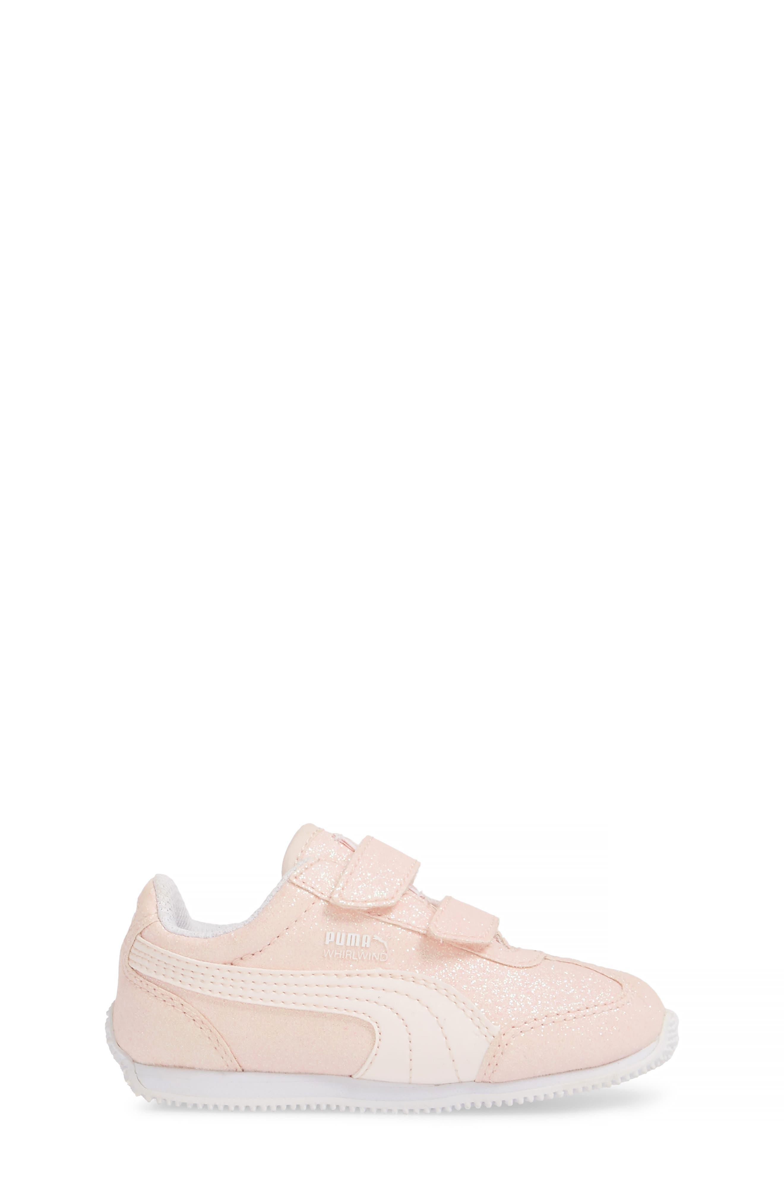Whirlwind Glitz Sneaker,                             Alternate thumbnail 3, color,                             PEARL/ PUMA WHITE
