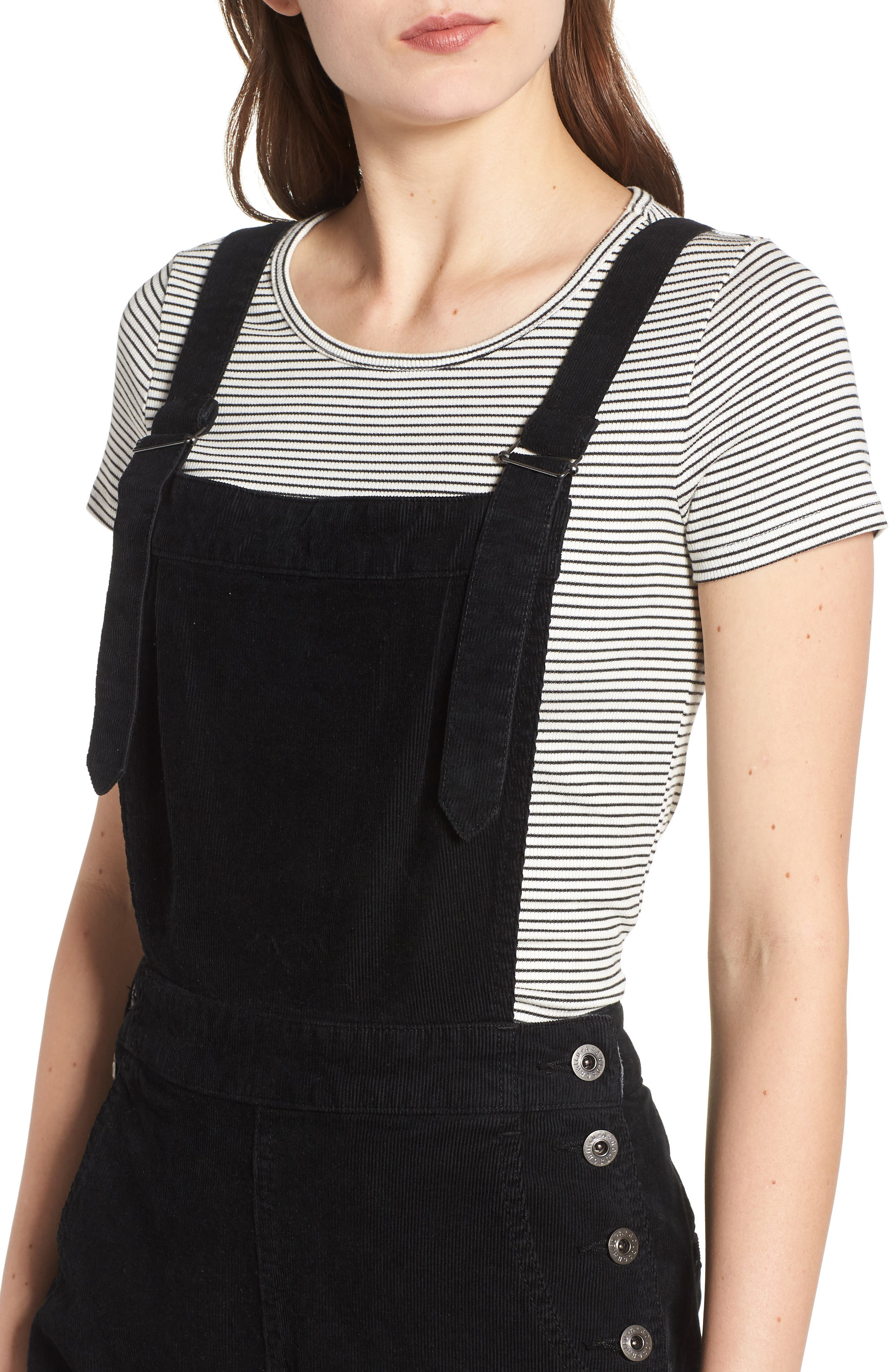 Gwendolyn Corduroy Overalls,                             Alternate thumbnail 4, color,                             018